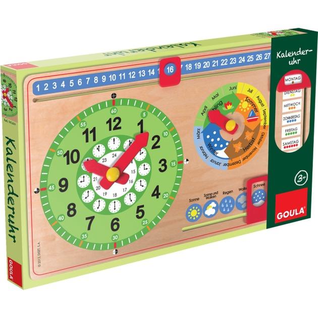 Calendar Clock (Ge), Aprendizaje divertido