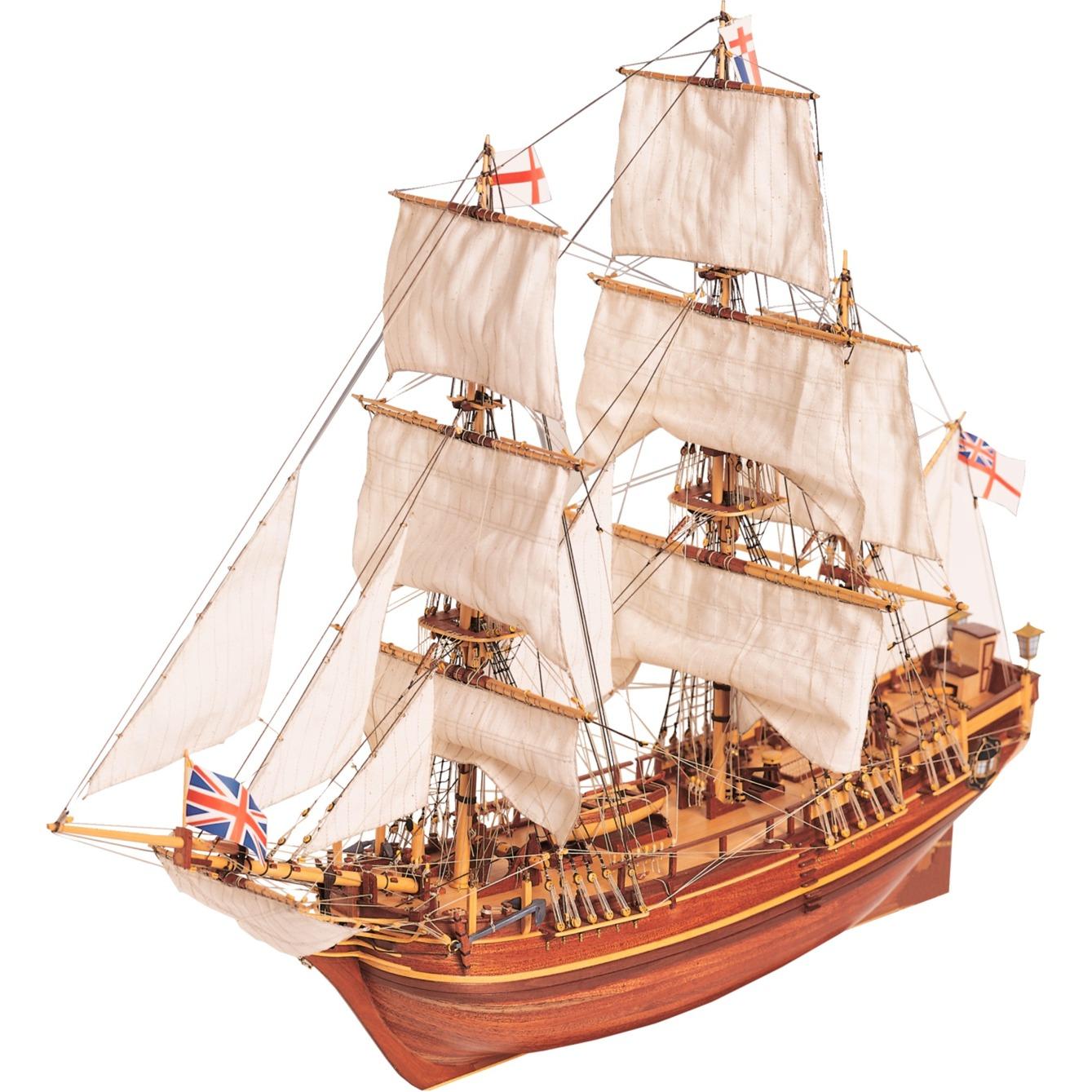 HMS Bounty Atlantis, Contrucciones