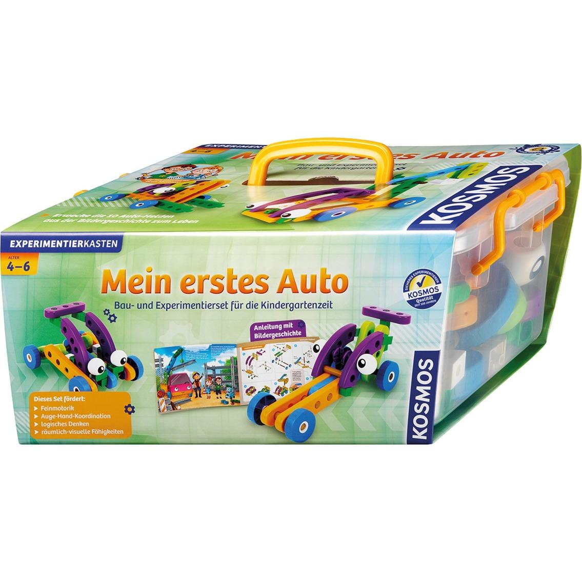 606107 juego de construcción Juego de construcción de varios modelos de vehículos, Caja de experimentos