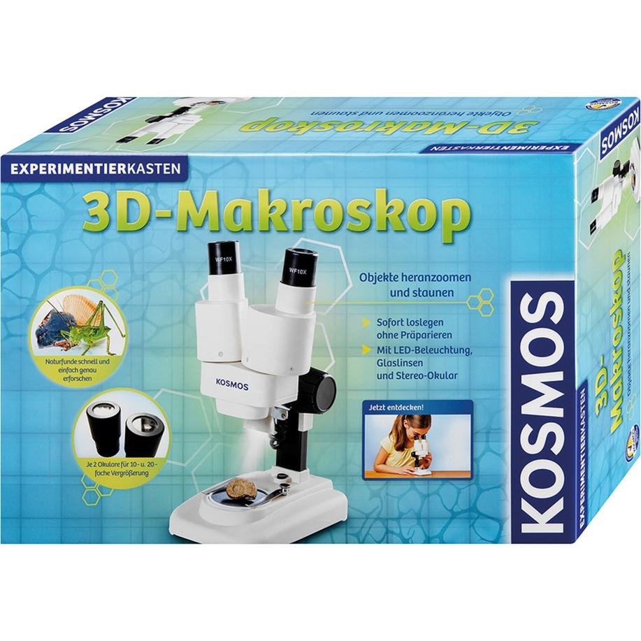 634407 Microscopio juguete y kit de ciencia para niños