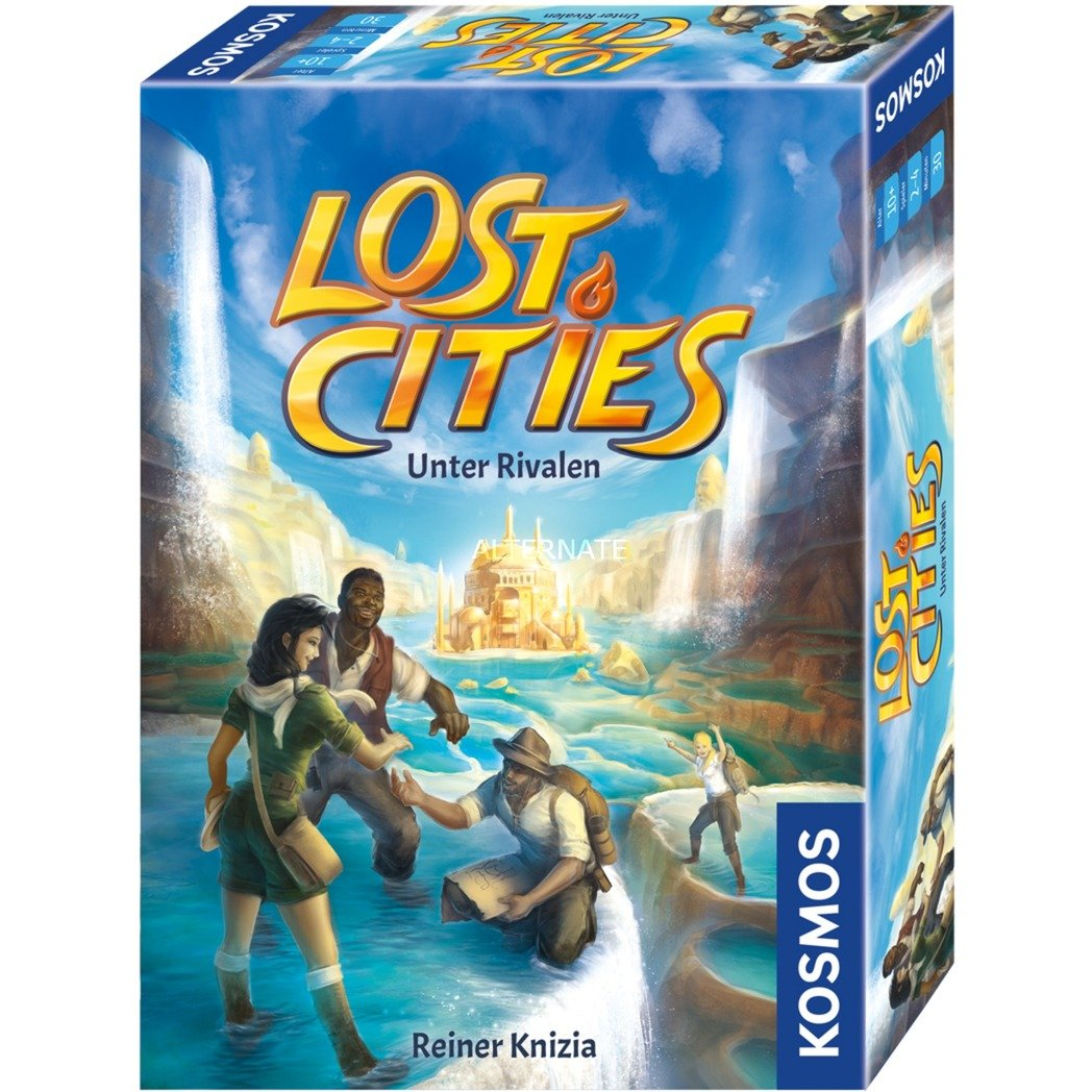 690335 juego de tablero Viajes/aventuras Niños y adultos, Juego de mesa