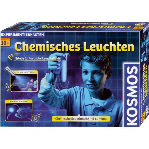 Chemisches Leuchten, Caja de experimentos