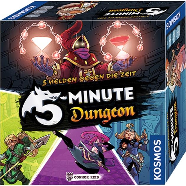 5-Minute Dungeon, Juegos de cartas