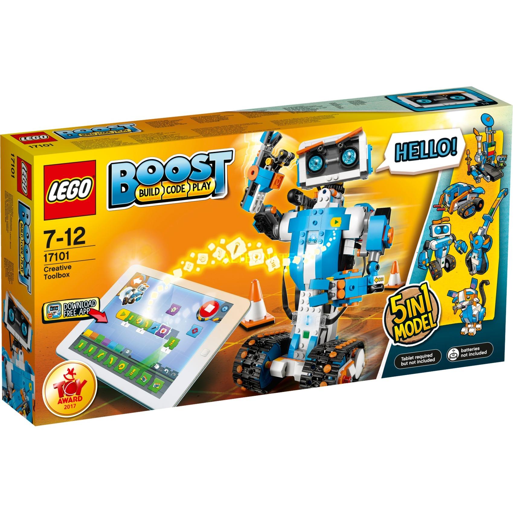 17101 Boost, Juegos de construcción