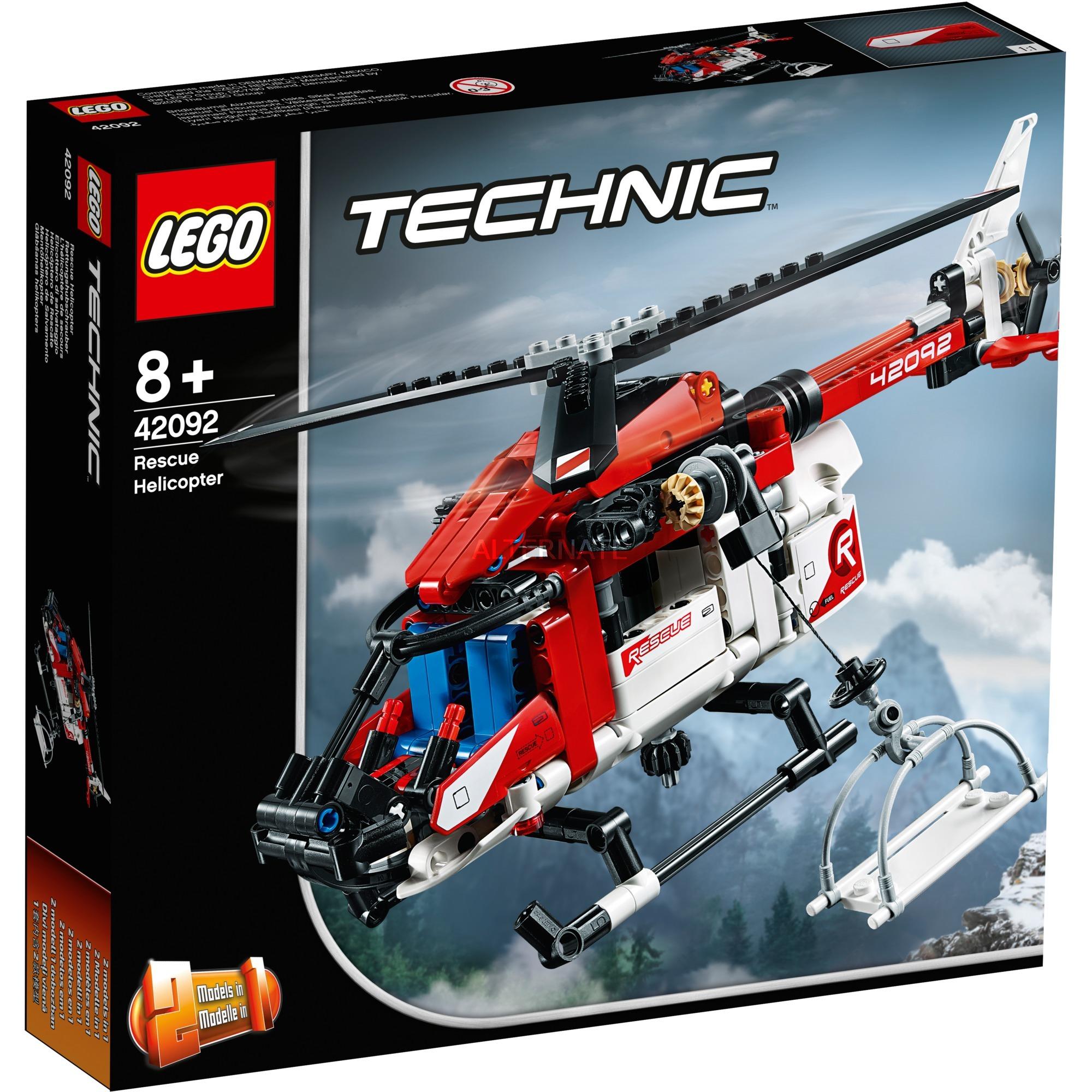 LEGO Technic - Helicóptero de Rescate - 42092