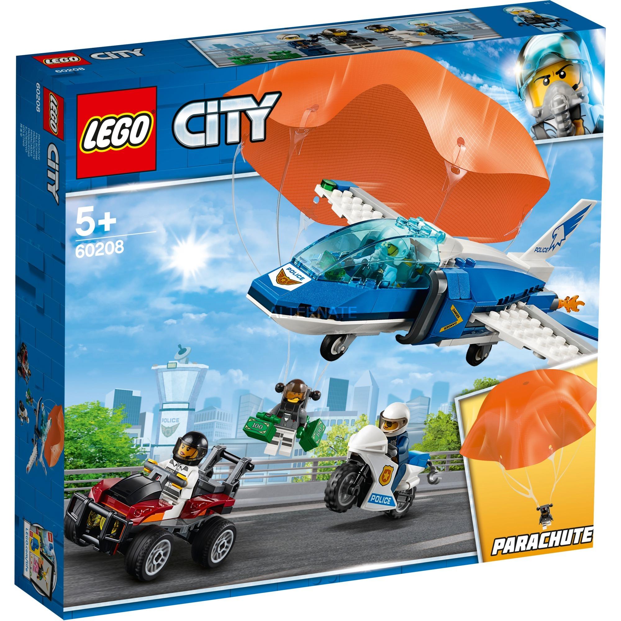LEGO City - Policía Aérea Arresto del Ladrón Paracaidista - 60208