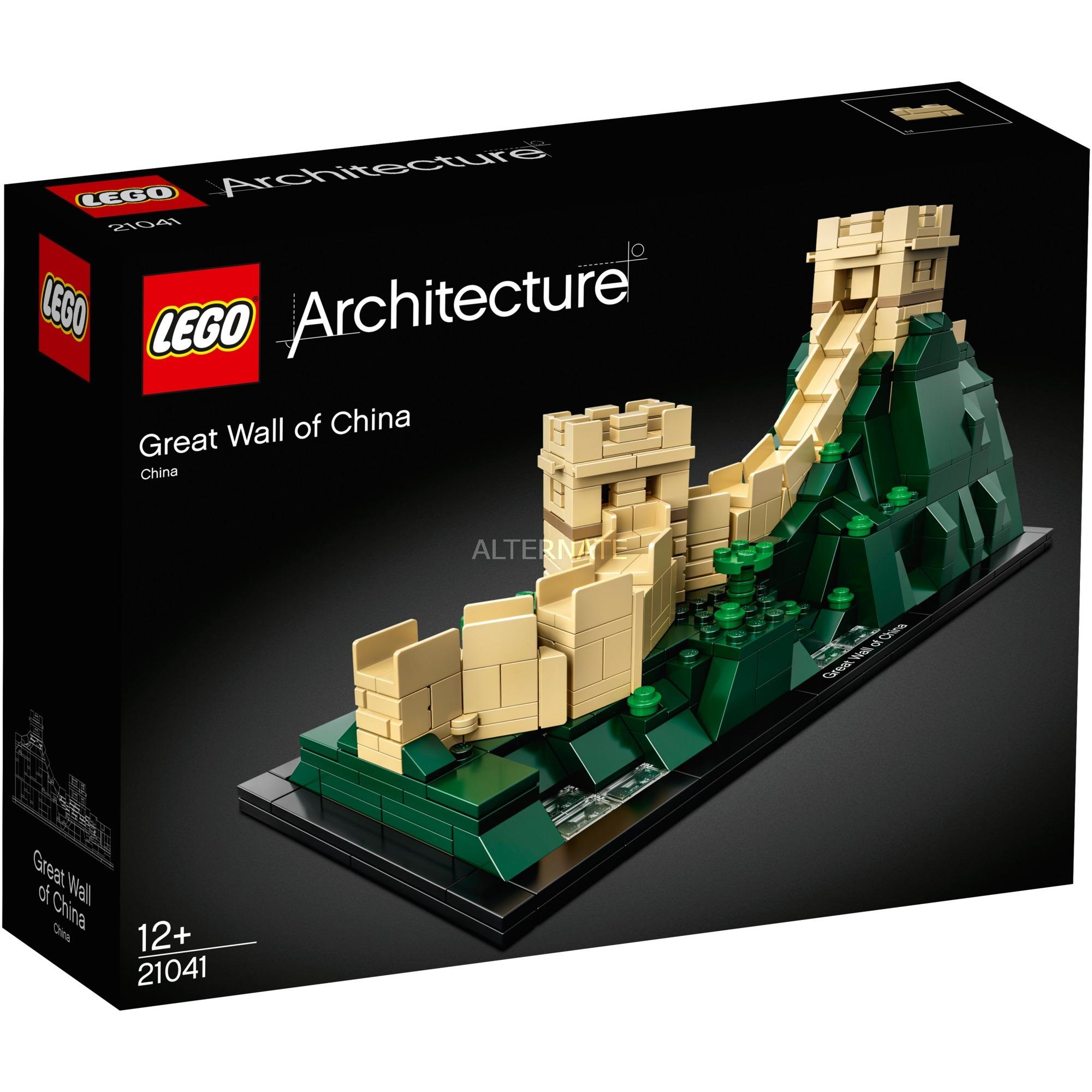 Architecture 21041 La gran muralla china, Juegos de construcción