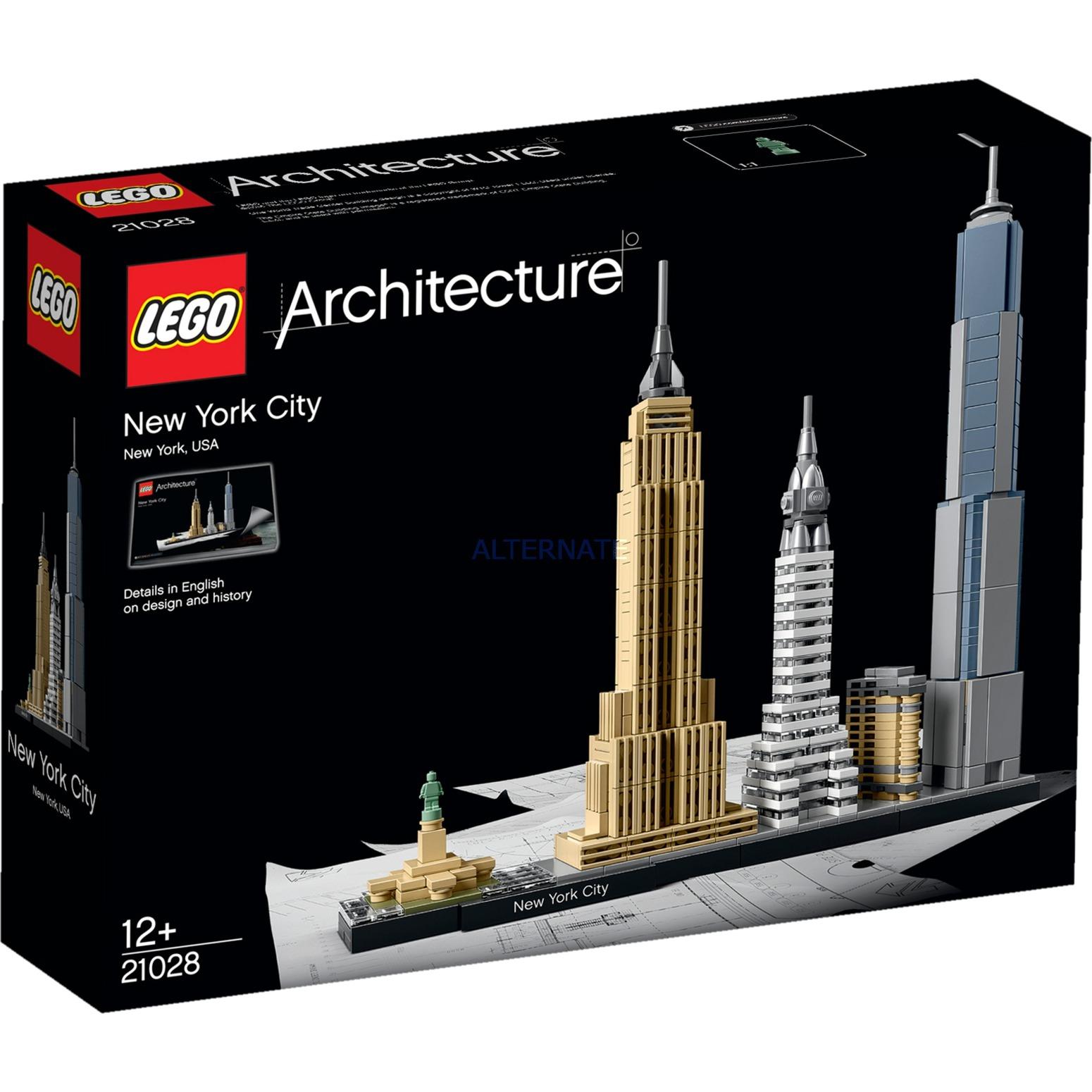 Architecture 21028 Nueva York, Juegos de construcción