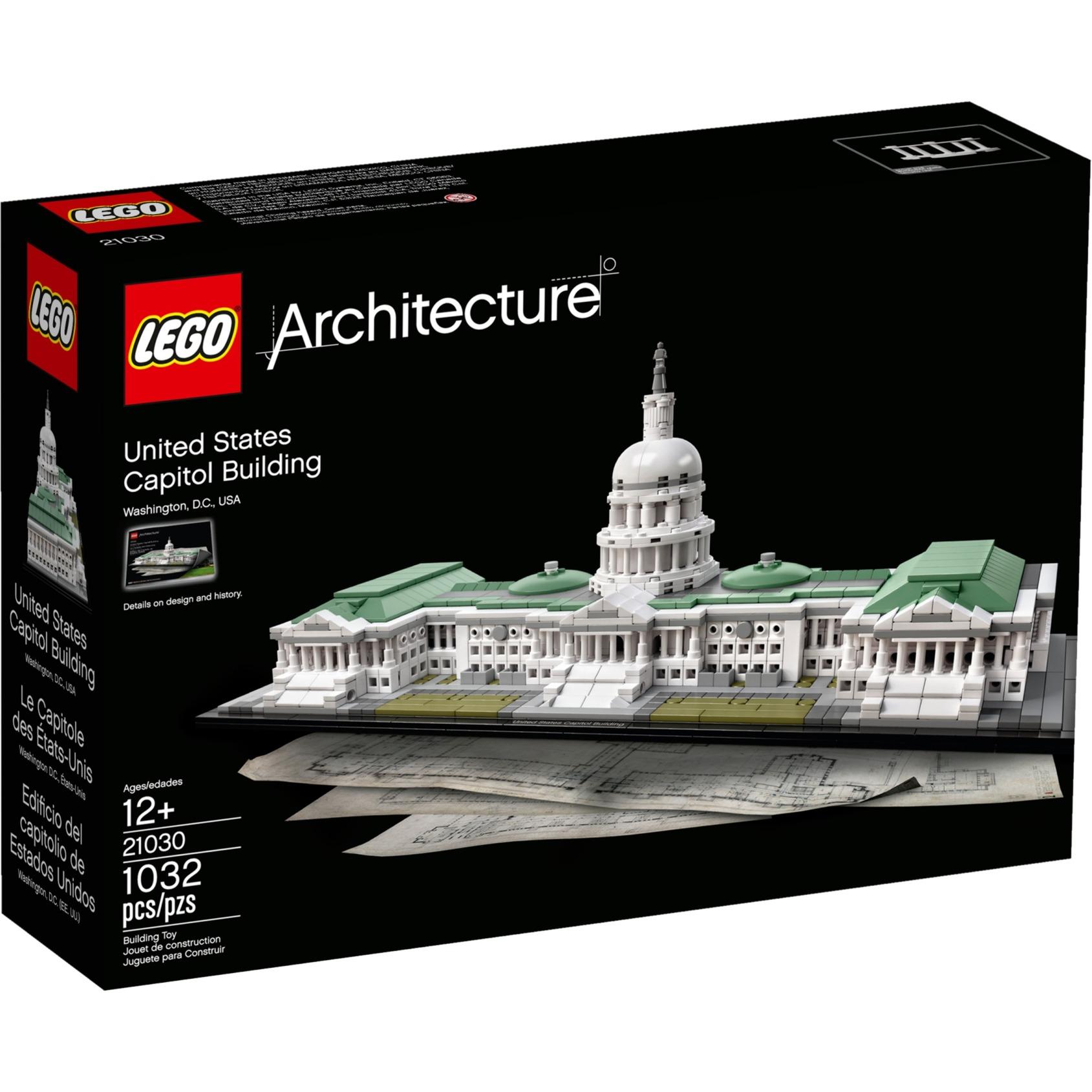 Architecture 21030 Edificio del Capitolio de Estados Unidos, Juegos de construcción