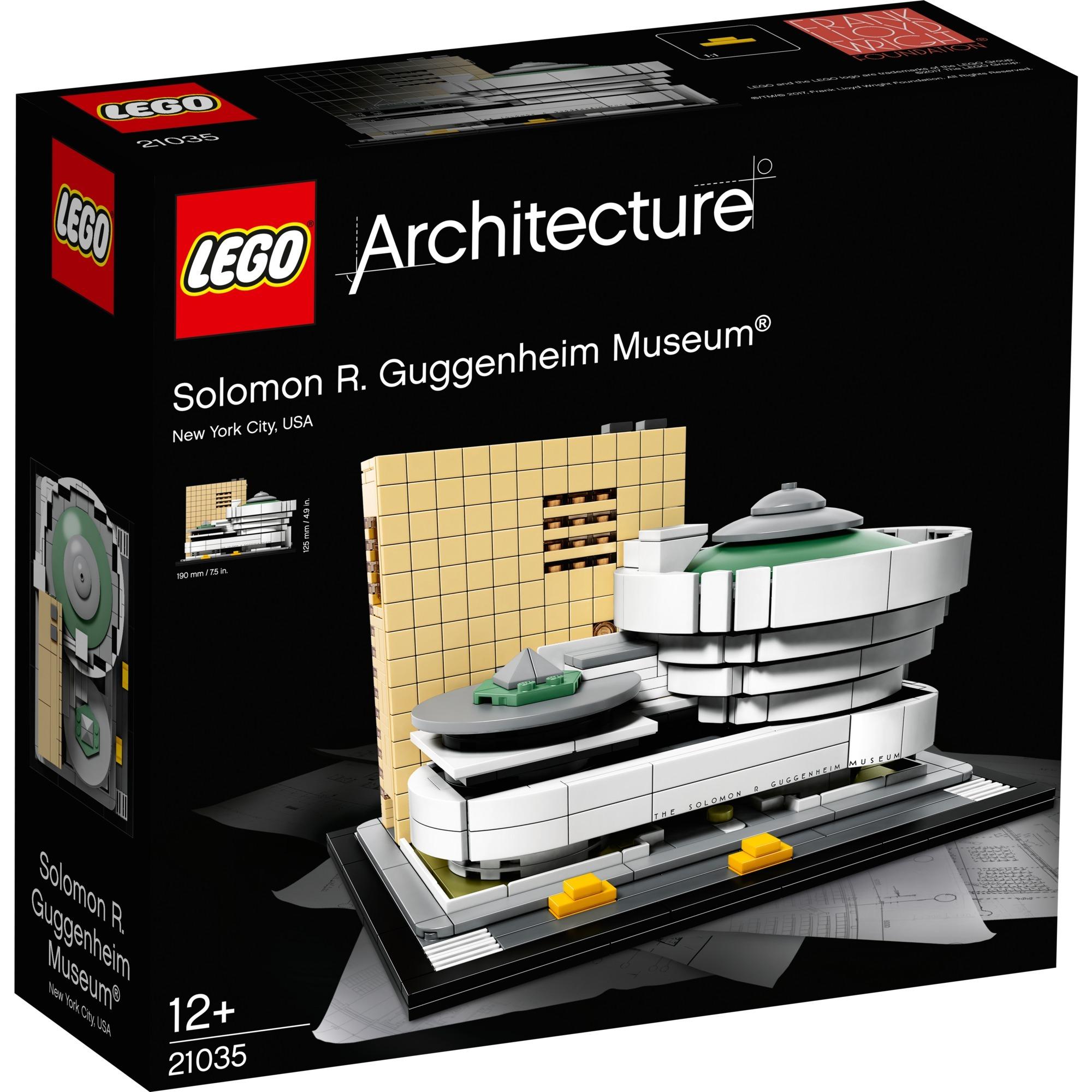 Architecture 21035 Museo Solomon R. Guggenheim, Juegos de construcción