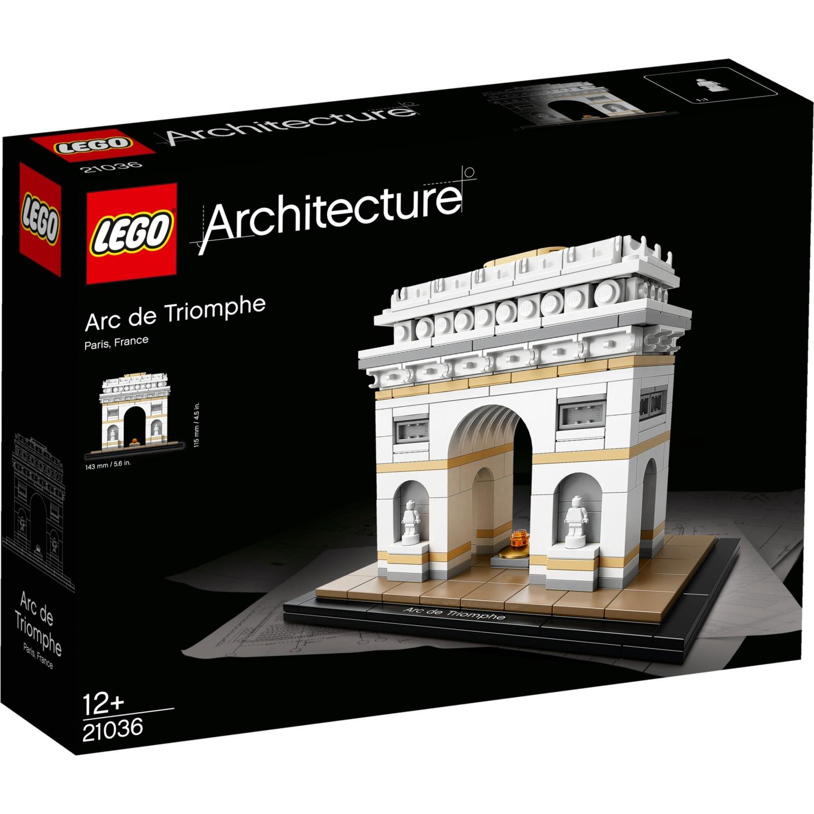 Architecture 21036 Arco del Triunfo, Juegos de construcción