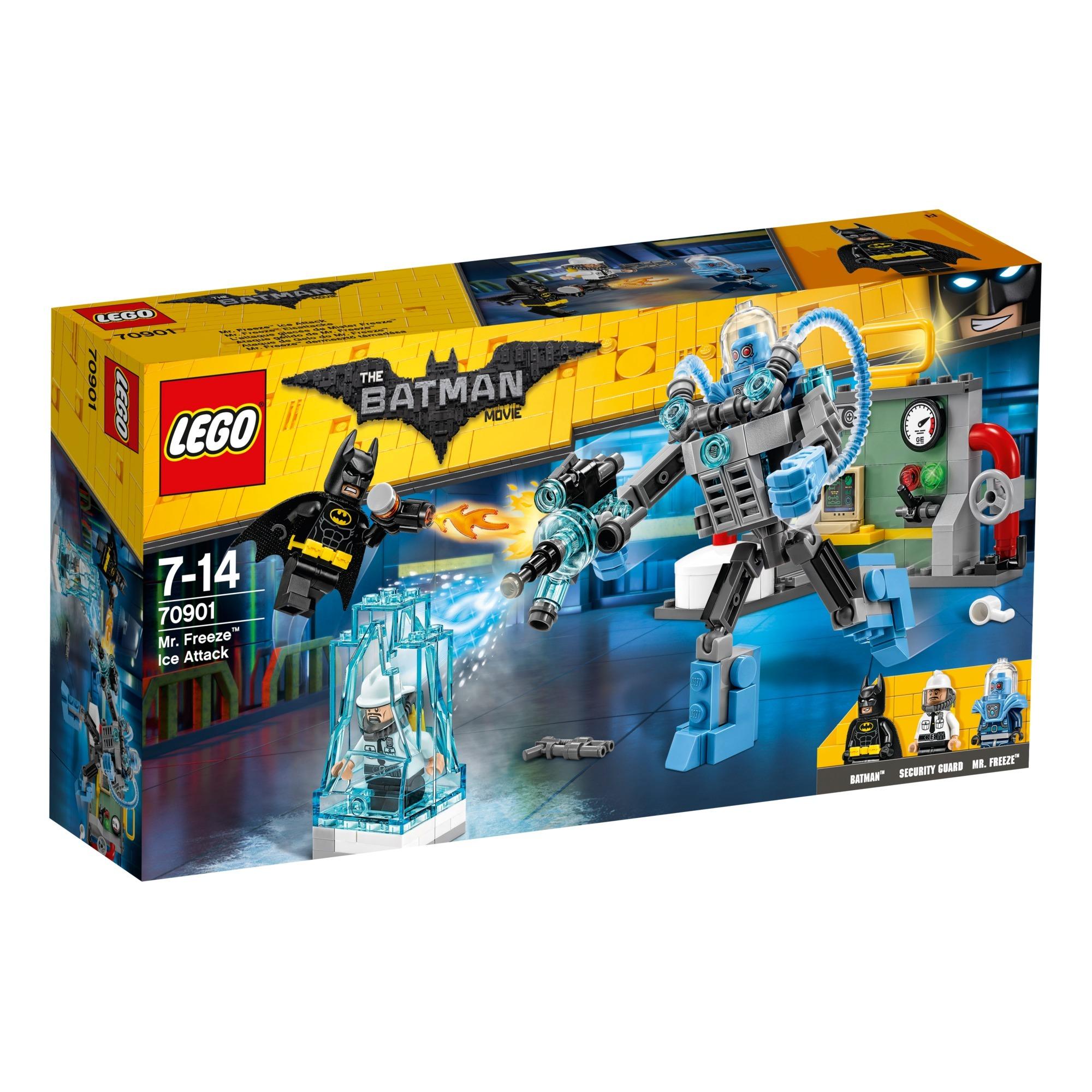Batman 70901 Ataque gélido de Mr. Freeze, Juegos de construcción