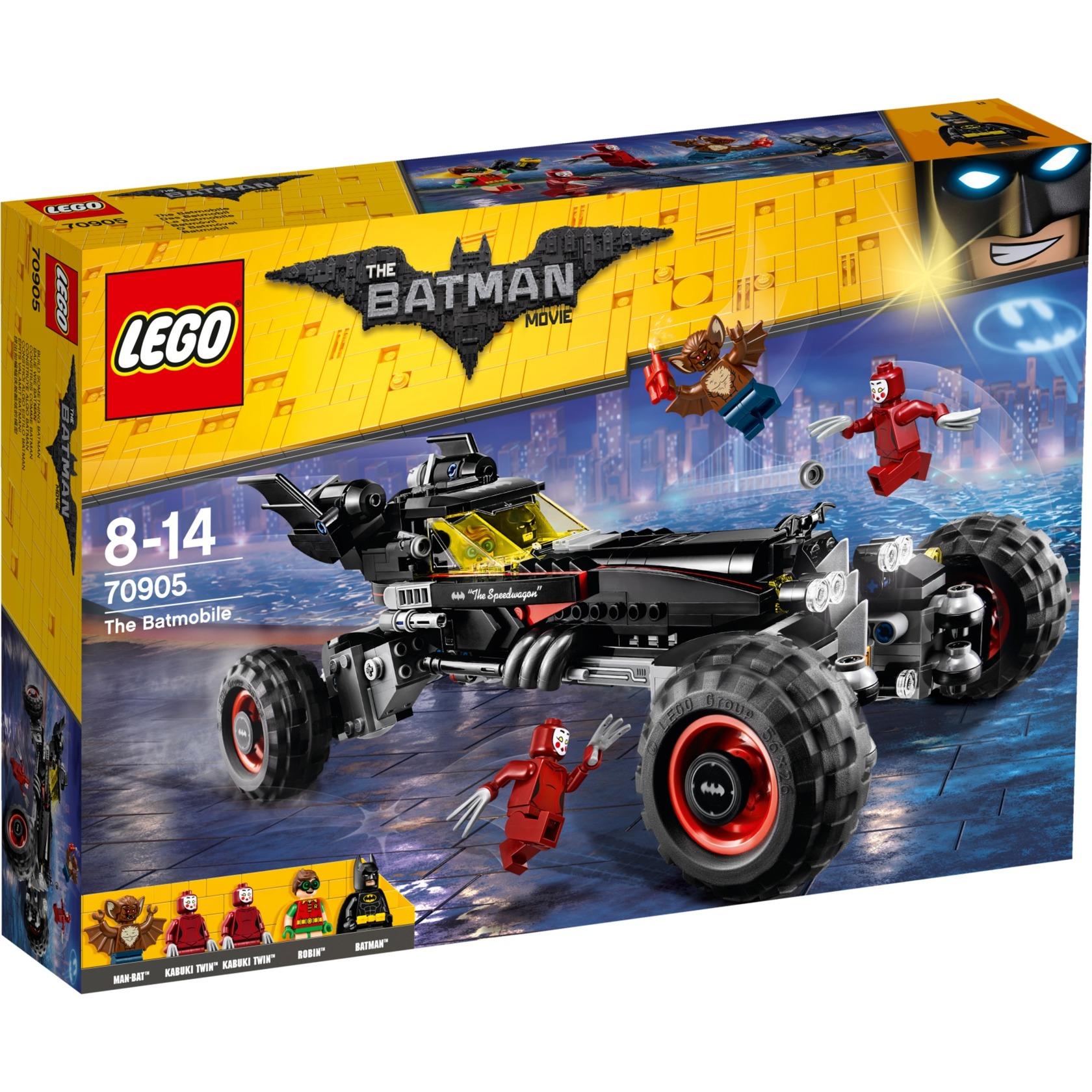 Batman 70905 Batmóvil, Juegos de construcción