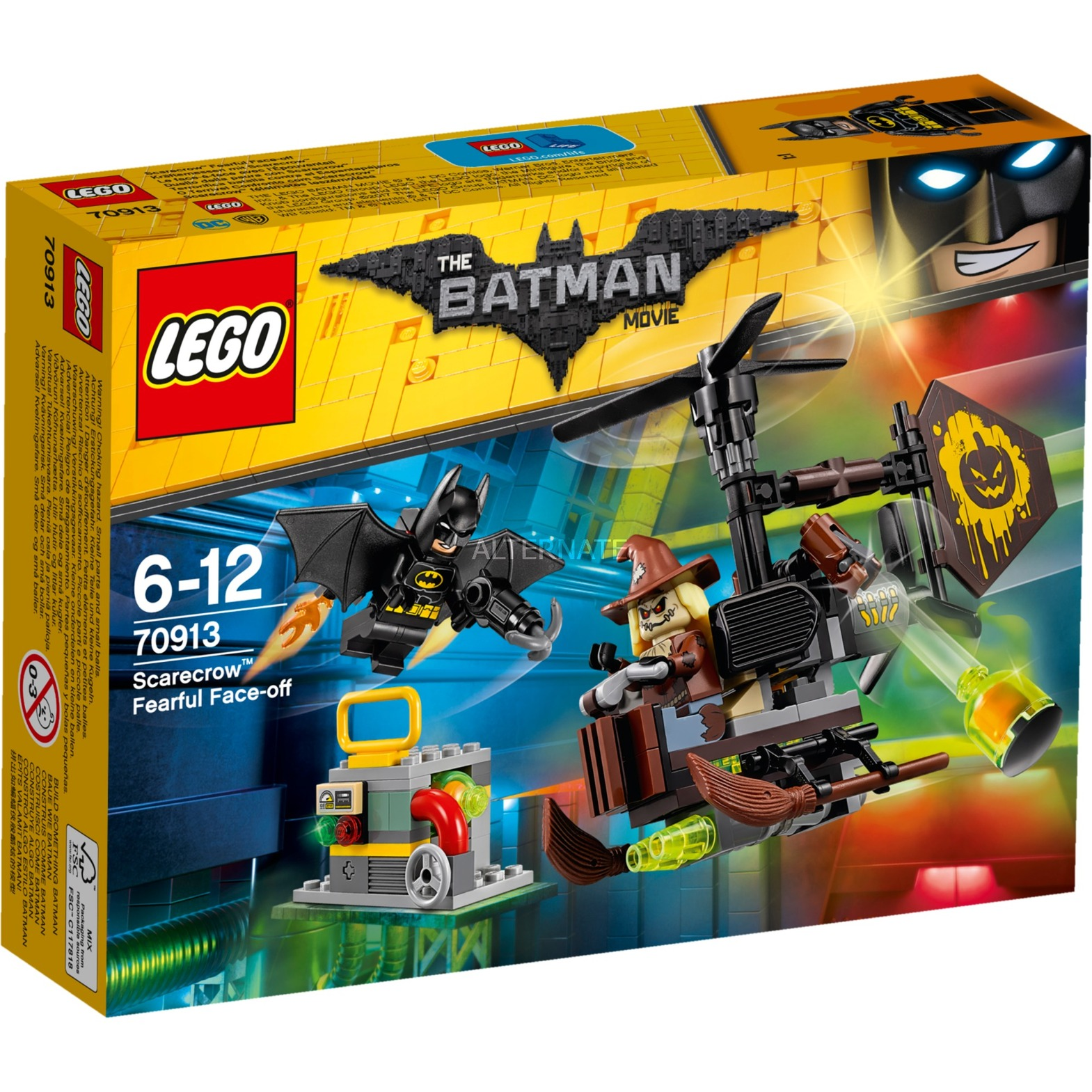 Batman 70913 Terrorífica batalla contra el Espantapájaros, Juegos de construcción