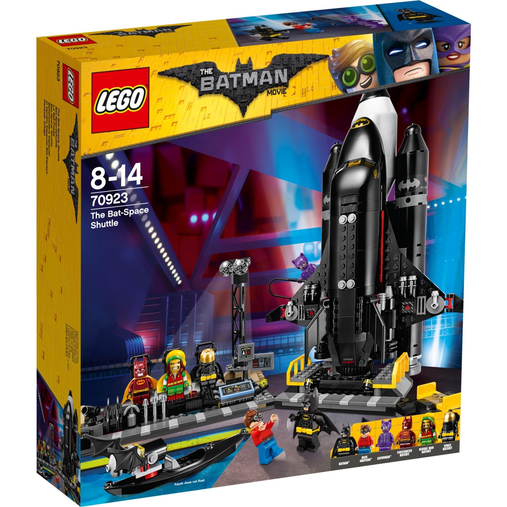 Batman 70923 Batlanzadera espacial, Juegos de construcción