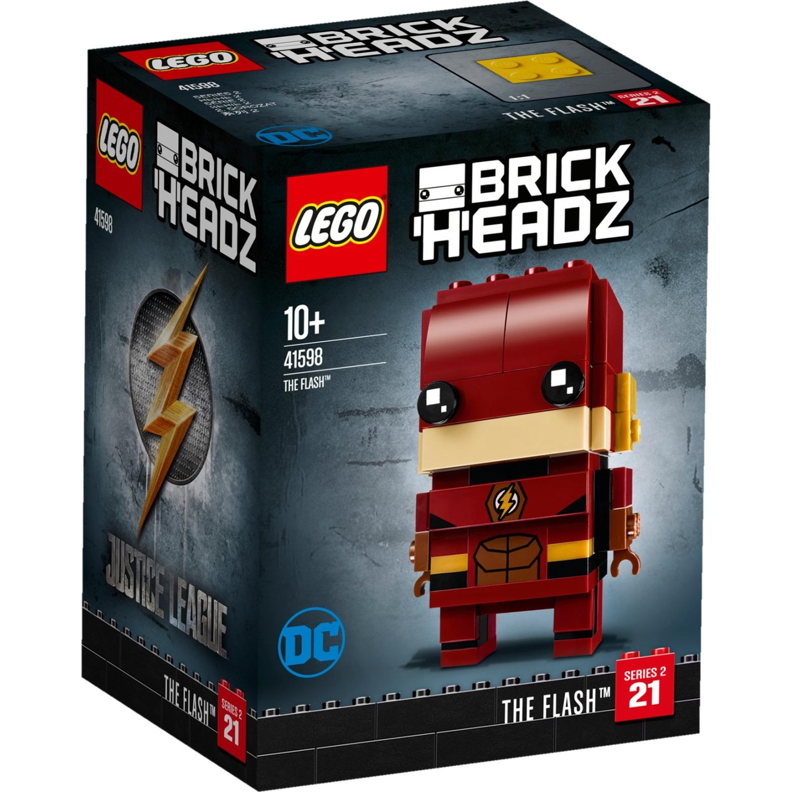 Brick Headz 41598 The Flash, Juegos de construcción