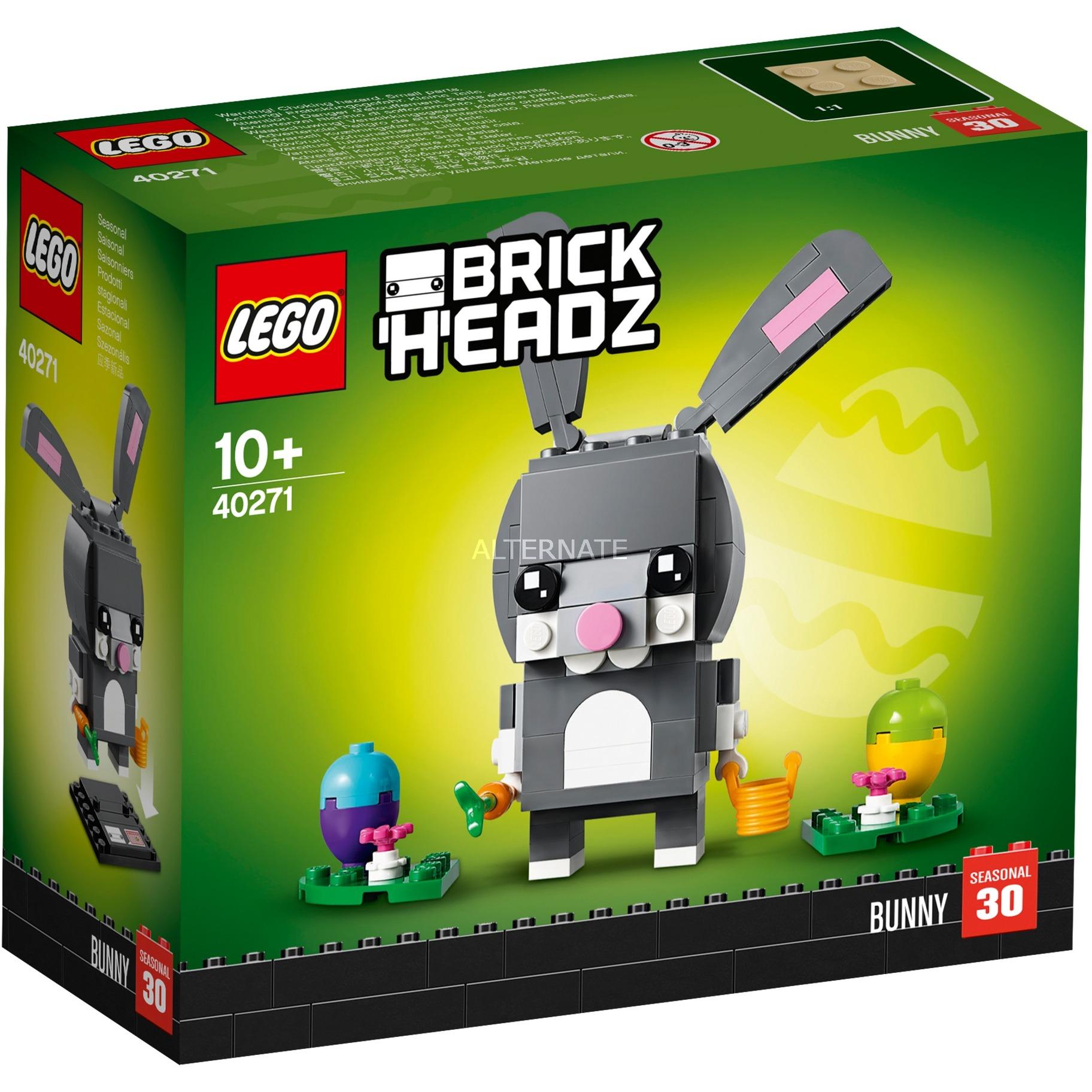 Brick Headz Conejo de Pascua, Juegos de construcción