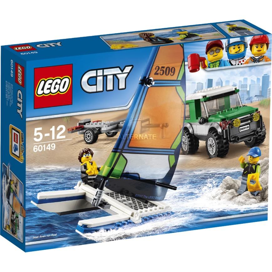 City 4x4 con catamarán, Juegos de construcción