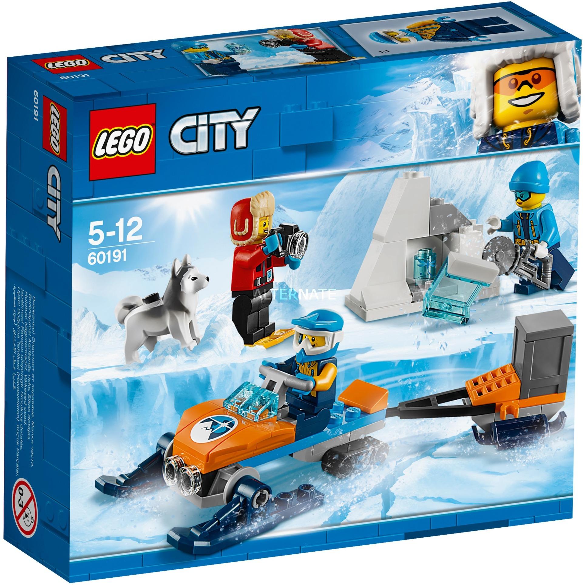 LEGO City - Ártico Equipo de Exploración - 60191