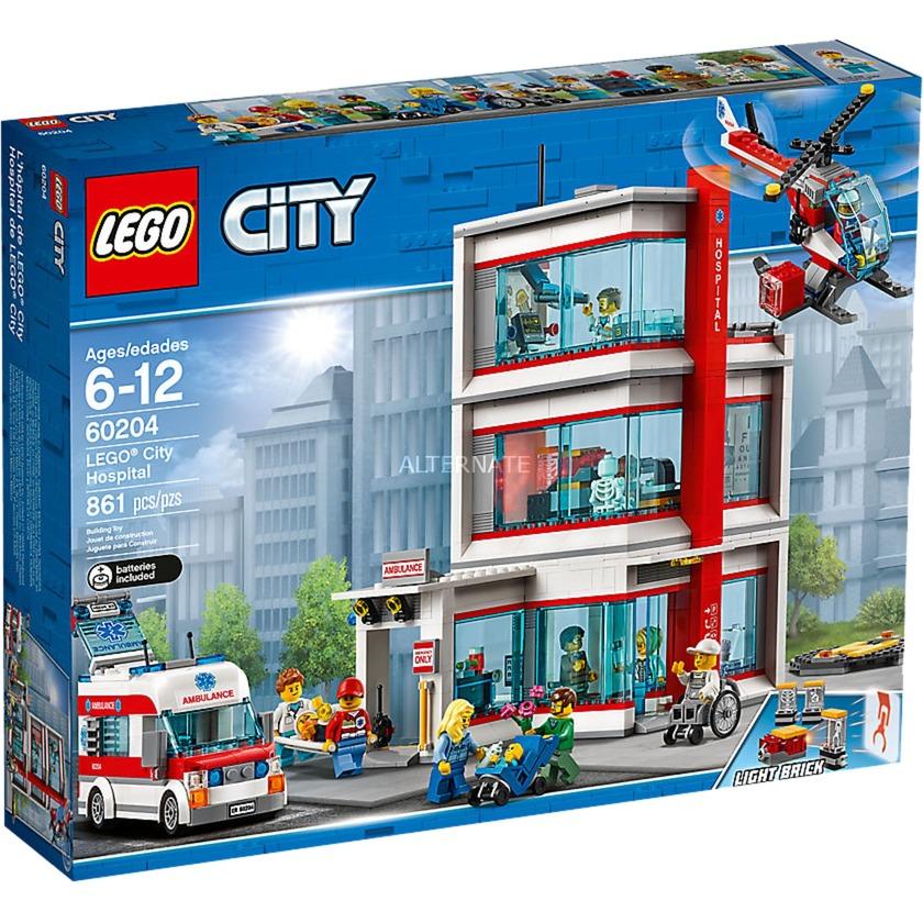 City 60204 Hospital de LEGO City, Juegos de construcción