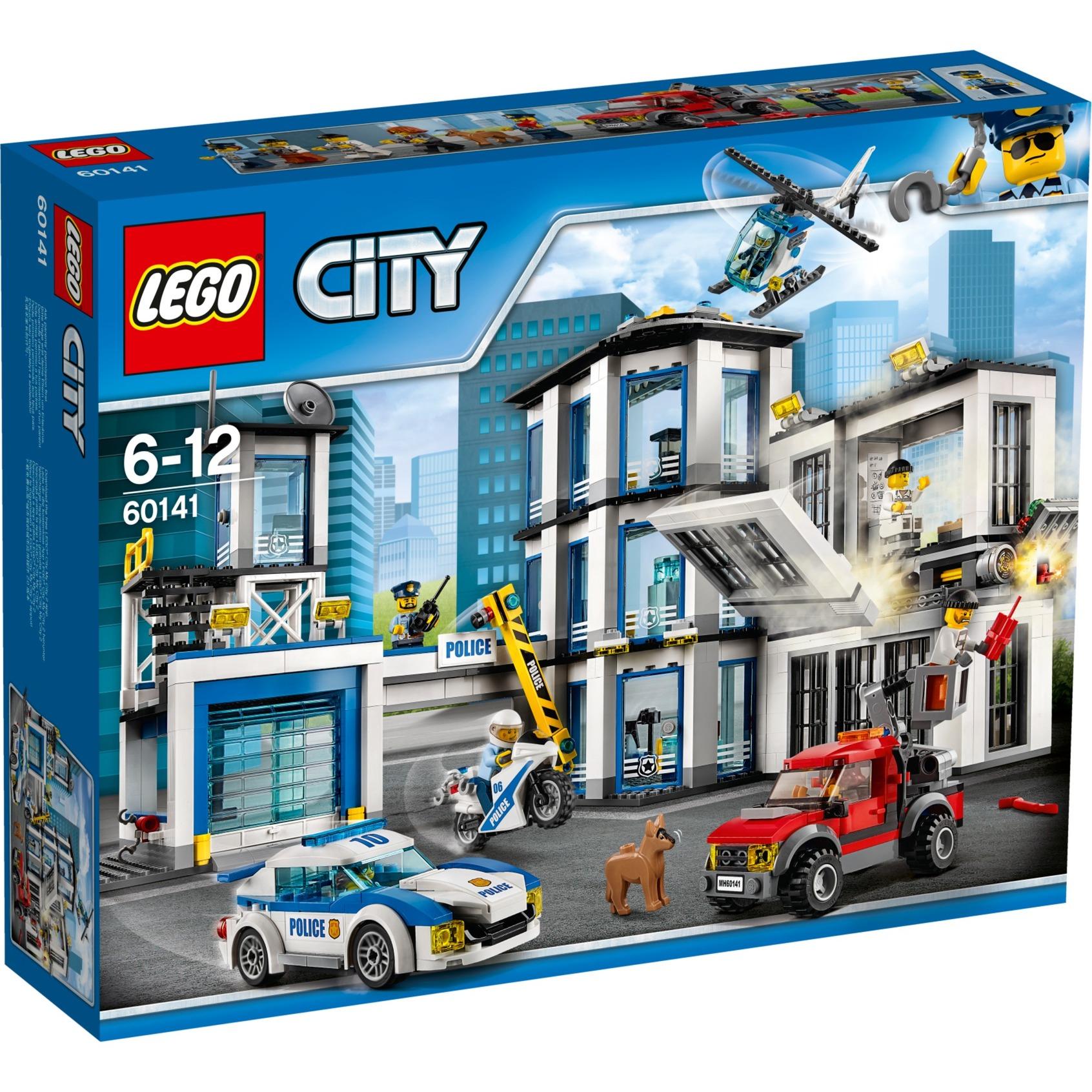 Lego City Comisaria De Policia Juegos De Construccion Multicolor 6