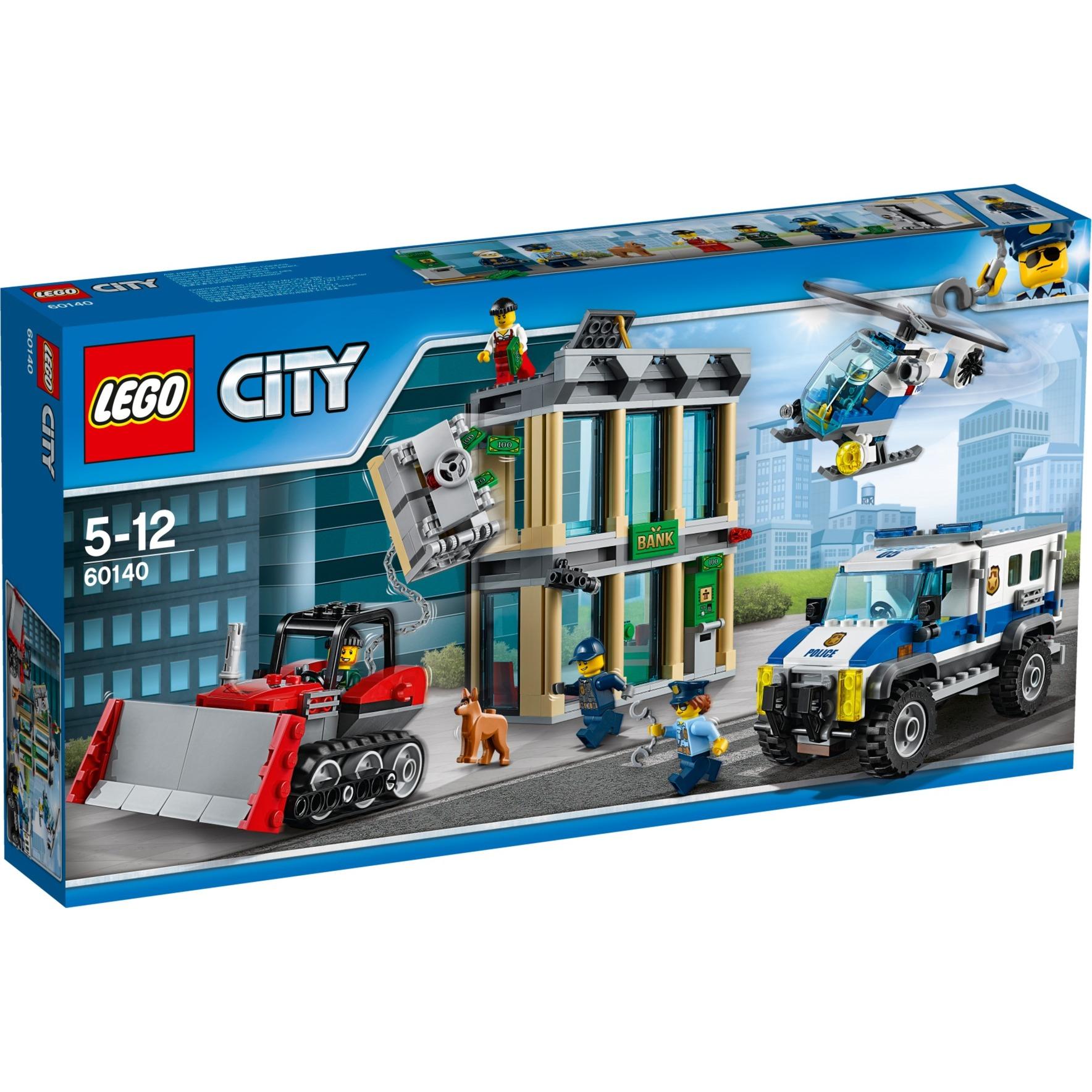 LEGO City: Huida con bulldozer (60140)
