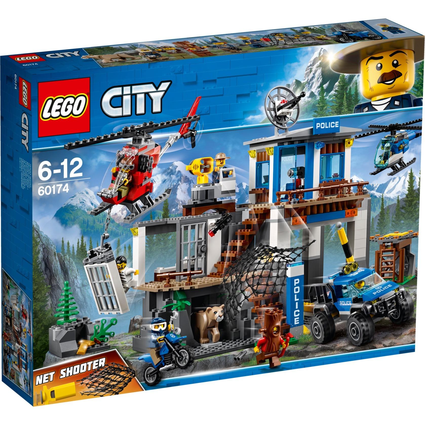 City 60174 Montaña: Estación de Policía, Juegos de construcción