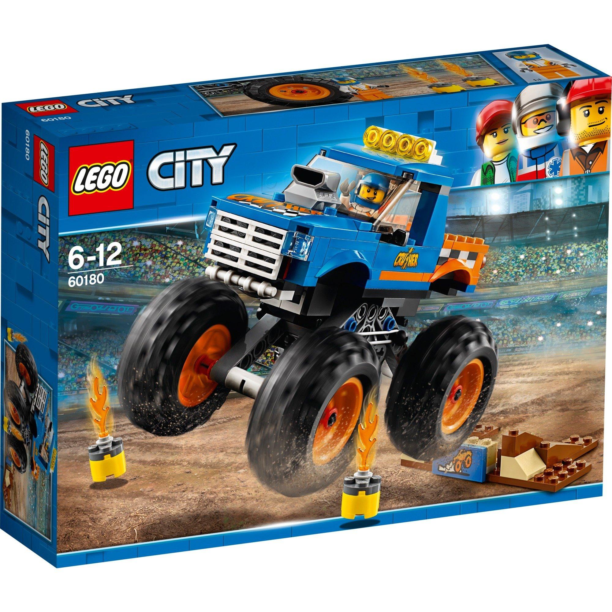 LEGO City - Camión Monstruo - 60180