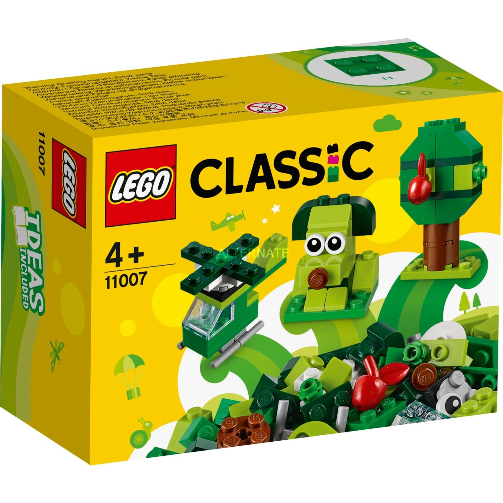 Classic Ladrillos Creativos Verdes - 11007, Juegos de construcción