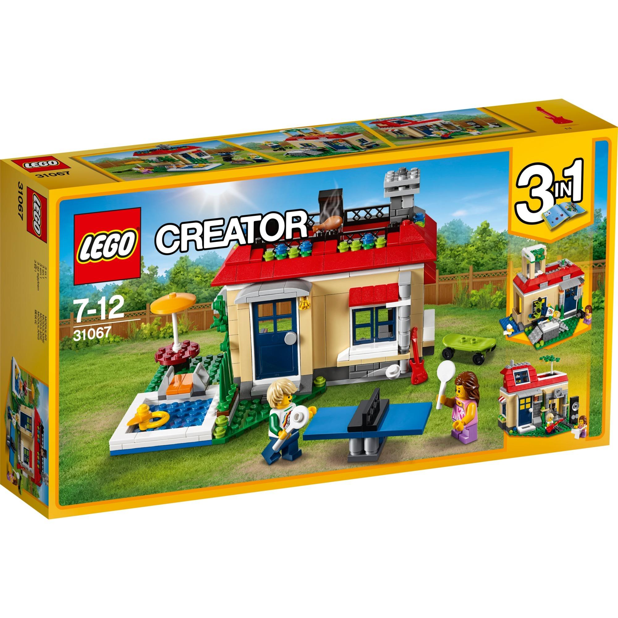 LEGO Creator: Casa modular con piscina (31067)