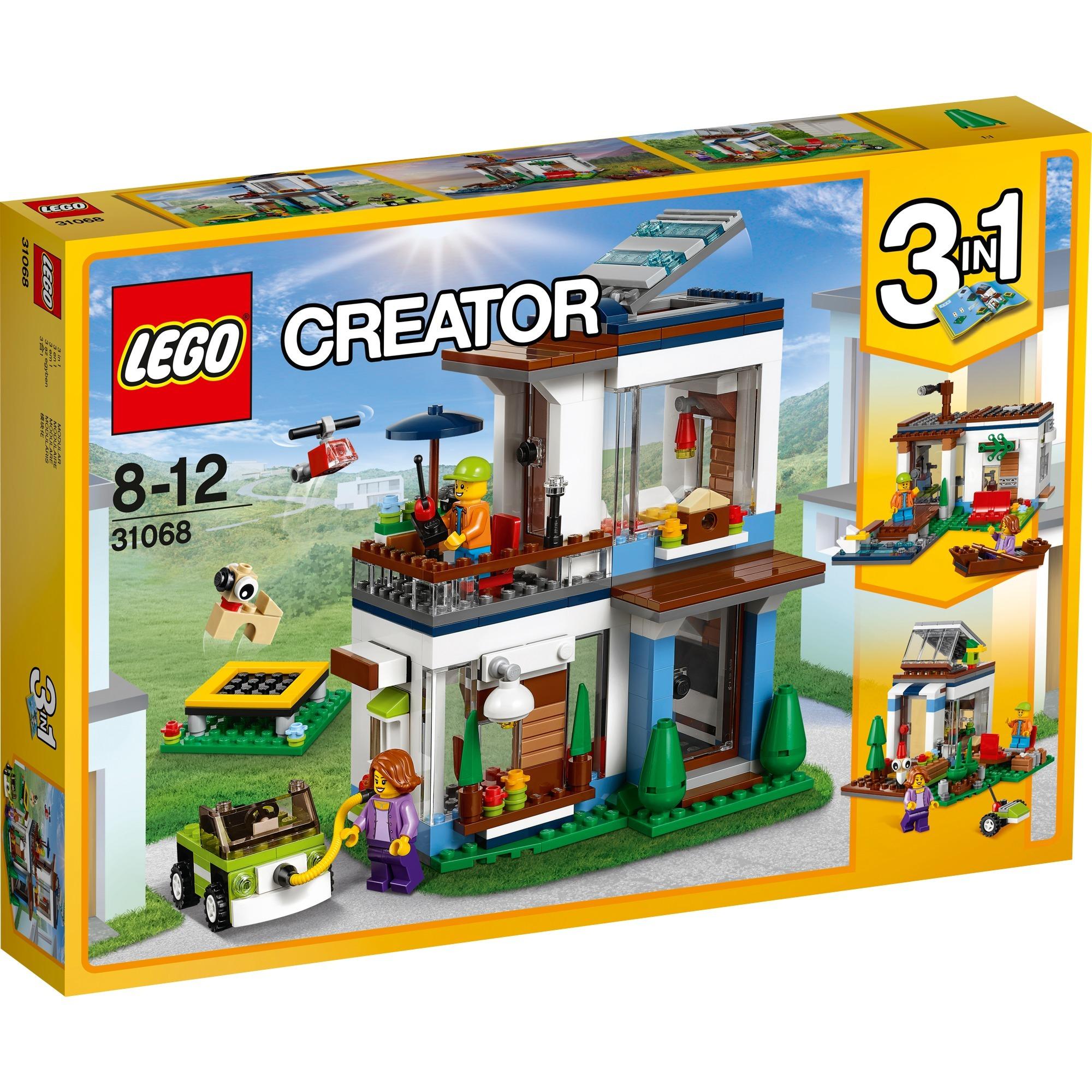 Creator 3in1 31068 Casa moderna, Juegos de construcción