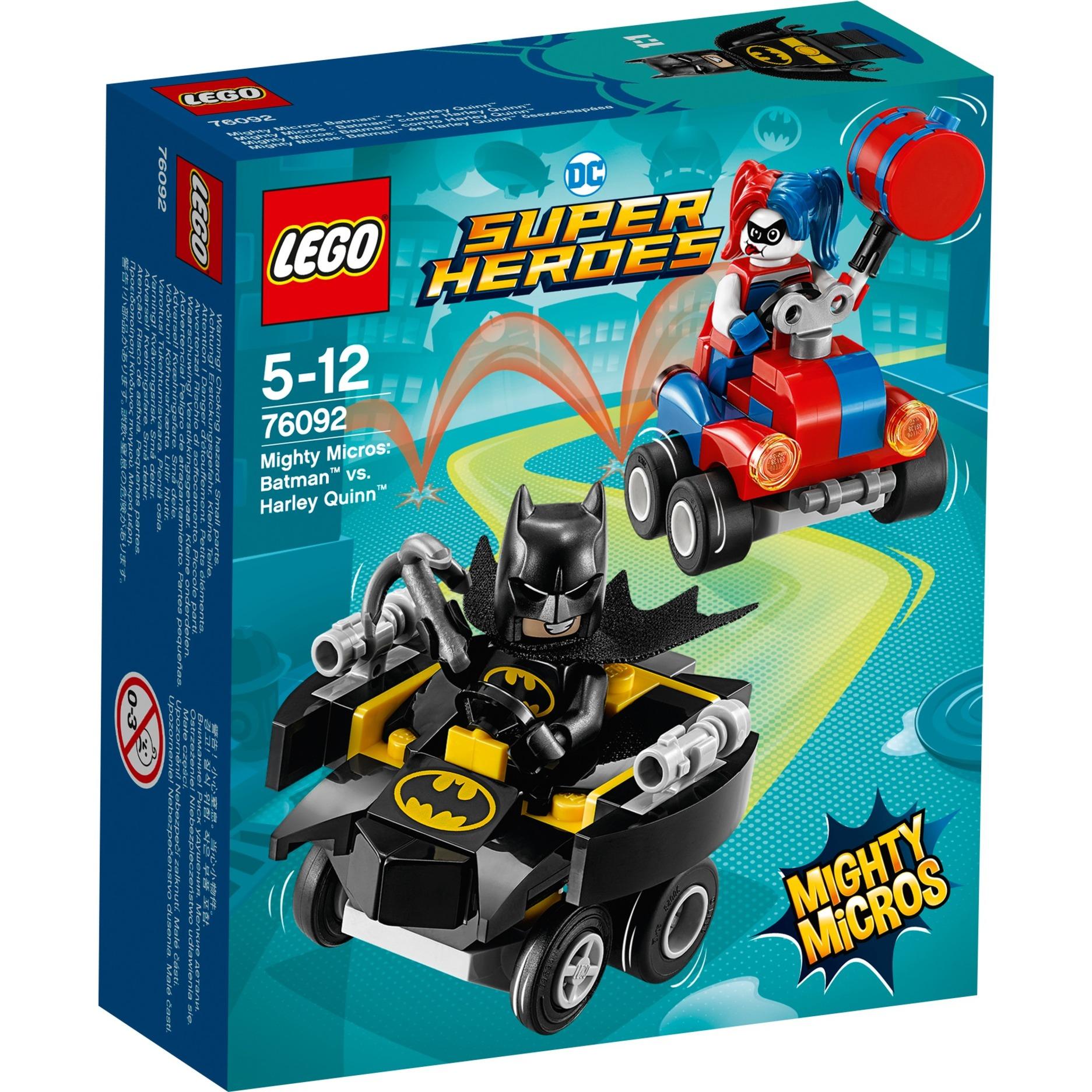 LEGO Super Heroes - Mighty Micros Batman vs. Harley Quinn - 76092