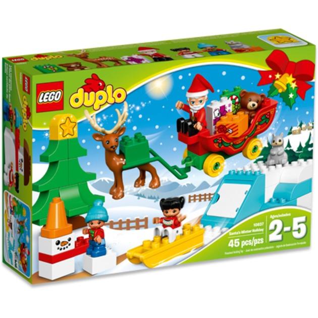 LEGO DUPLO - Trineo de Papá Noel - 10837