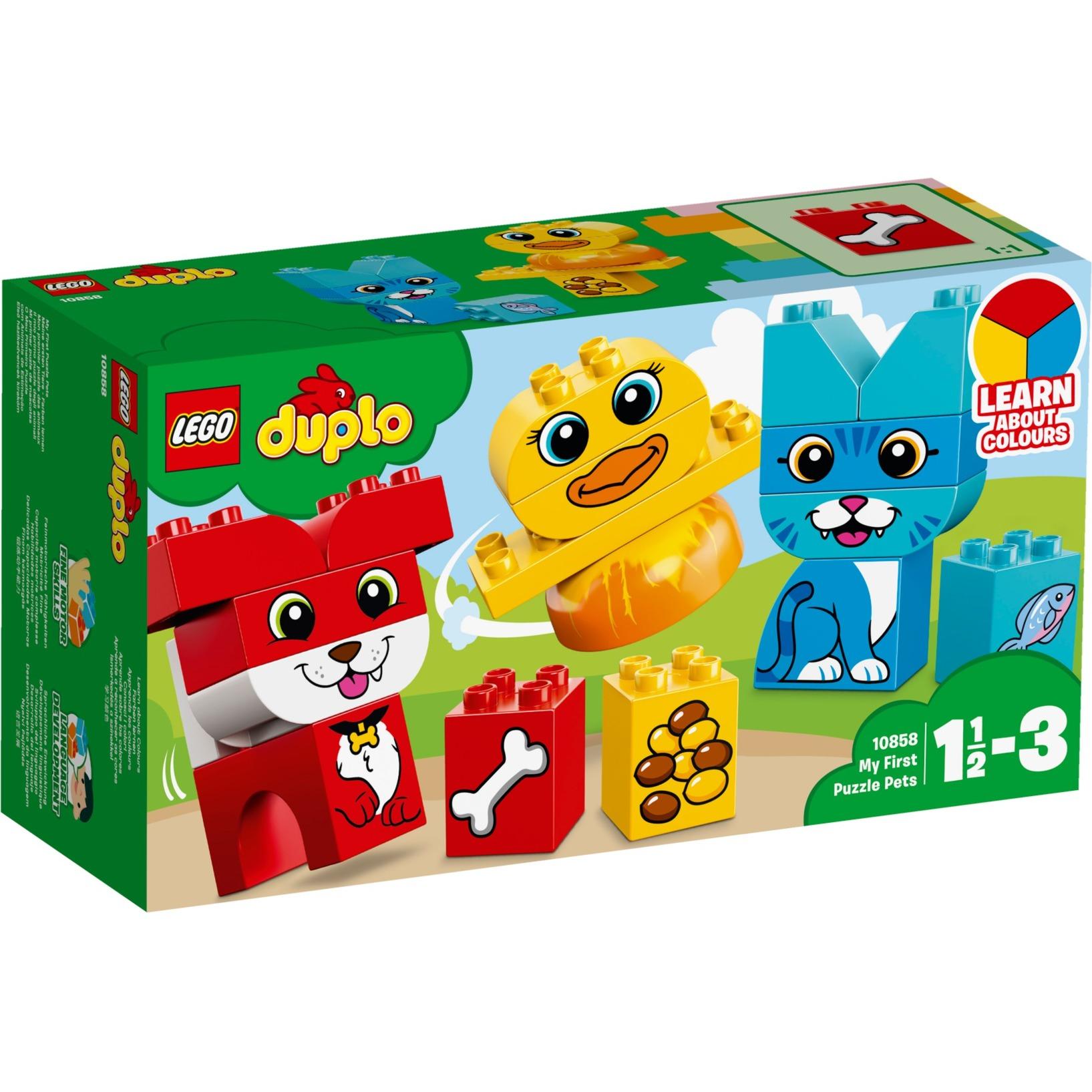 LEGO DUPLO - Mi Primer Puzle de Mascotas - 10858