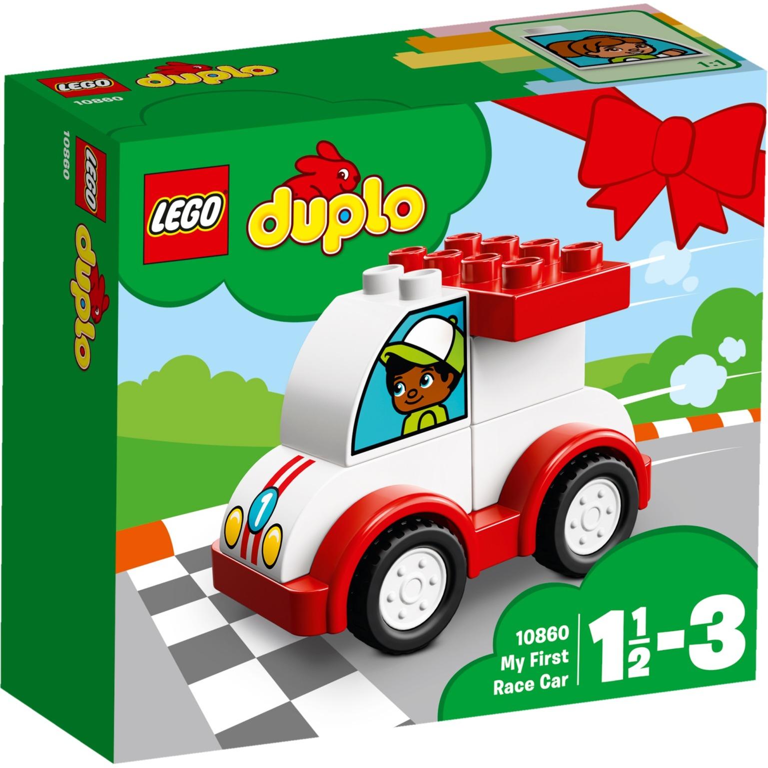 LEGO DUPLO - Mi primer Coche de Carreras - 10860