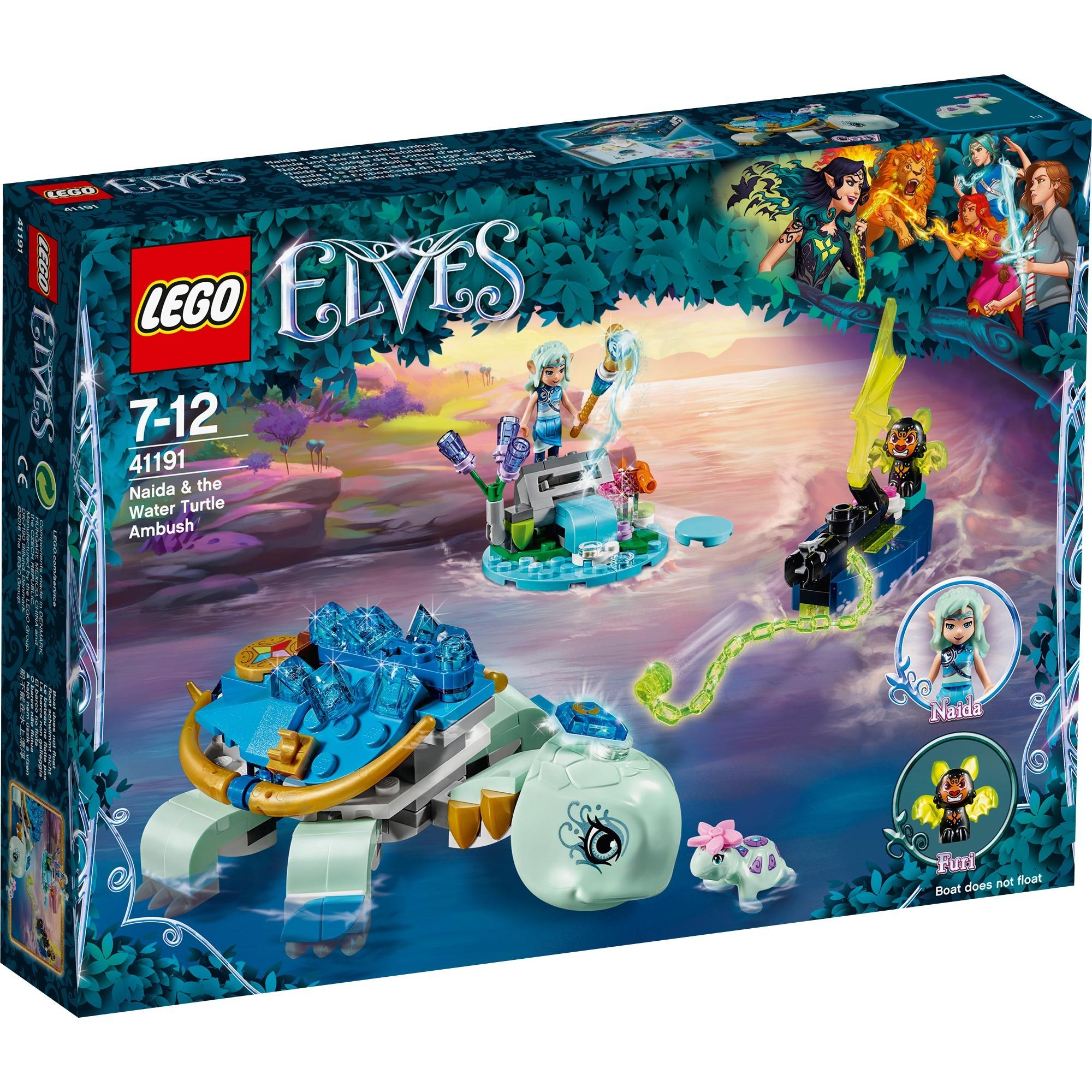 LEGO Elves - Naida y la Emboscada de la Tortuga - 41191