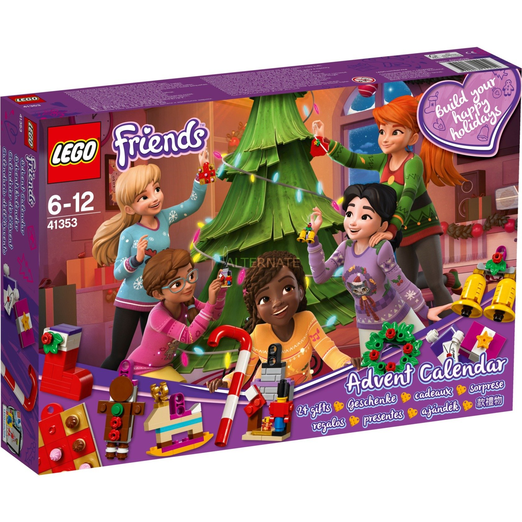 LEGO Friends - Calendario de Adviento - 41353