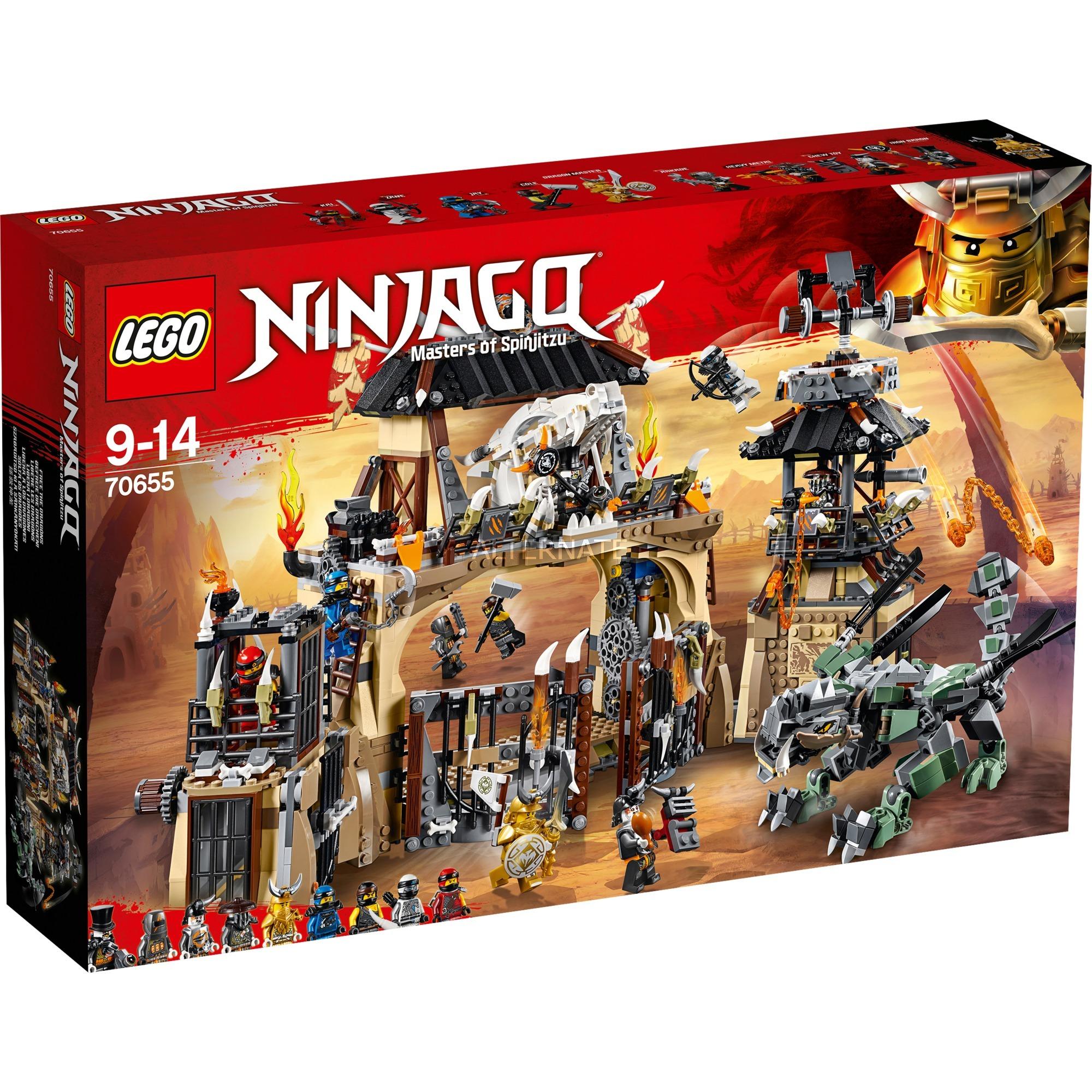 LEGO Ninjago - Pozo del Dragón - 70655