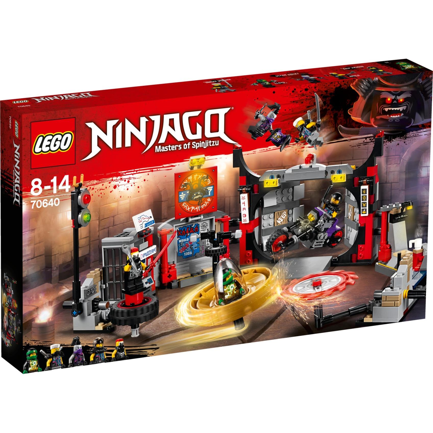 LEGO Ninjago - Cuartel general de H.D.G. - 70640