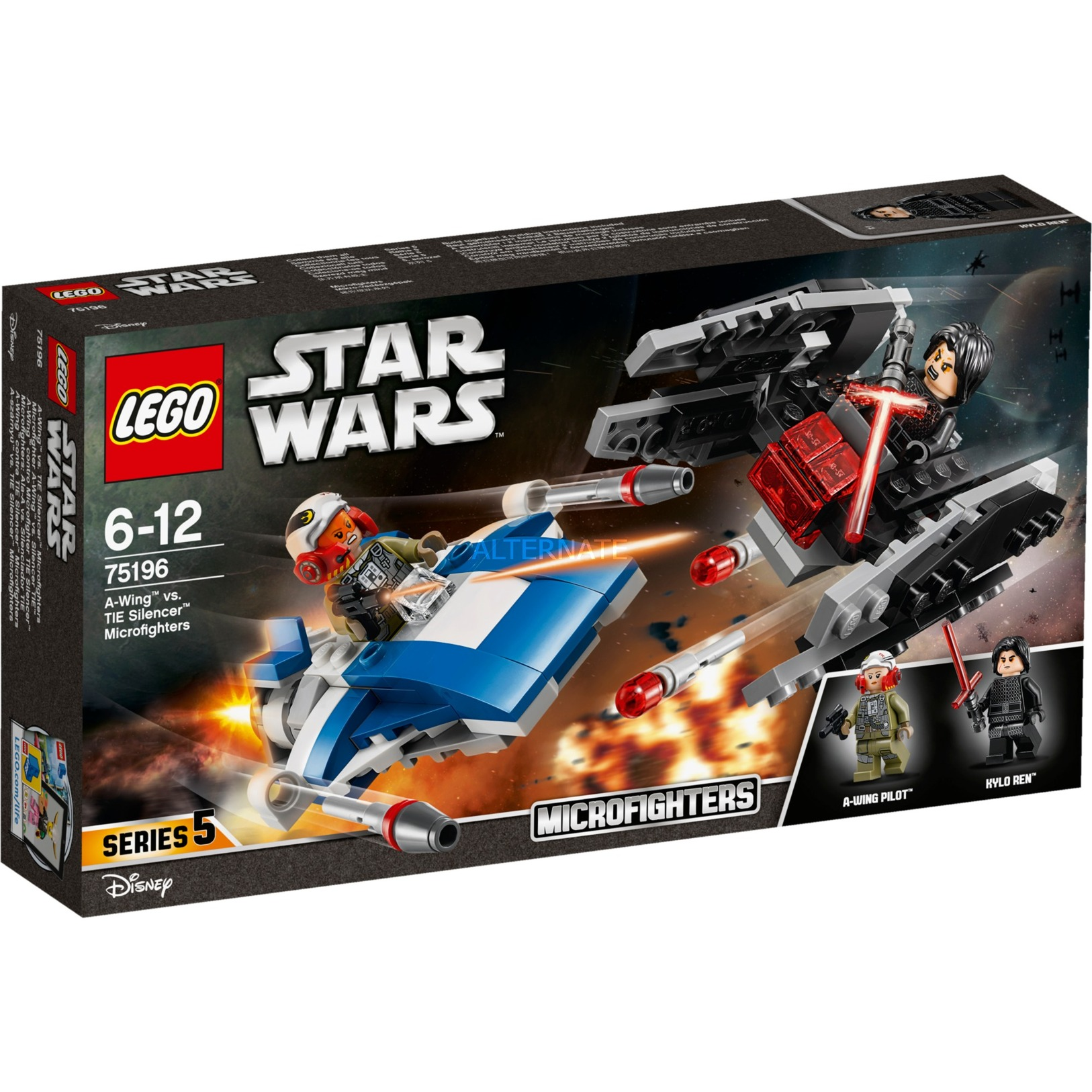 LEGO Star Wars - Microfighters Ala-A vs Silenciador TIE - 75196