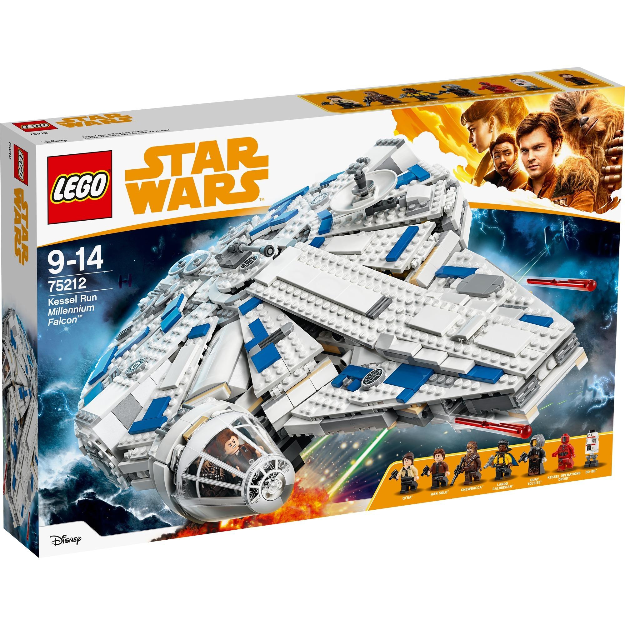 LEGO Star Wars: Halcón Milenario del corredor de Kessel (75212)
