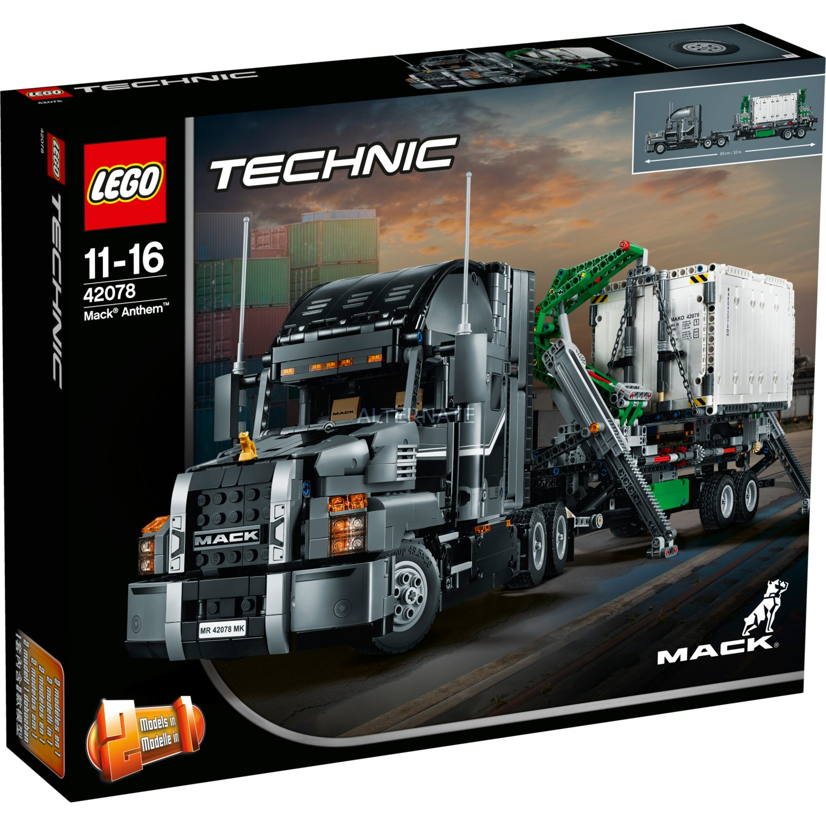 LEGO Technic - Mack Anthem - 42078