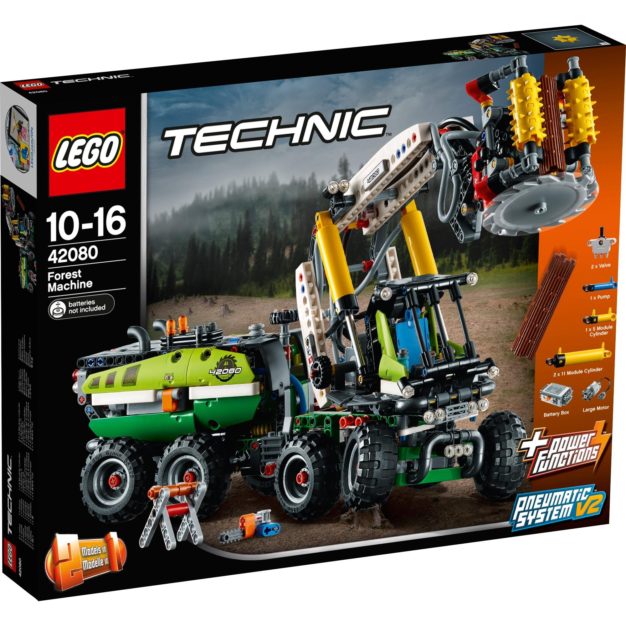 Technic 42080 Máquina forestal, Juegos de construcción