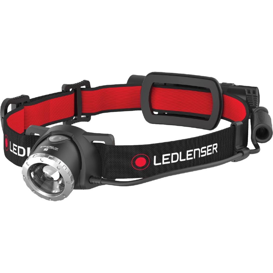 H8R Linterna con cinta para cabeza LED Negro, Rojo, Luz de LED