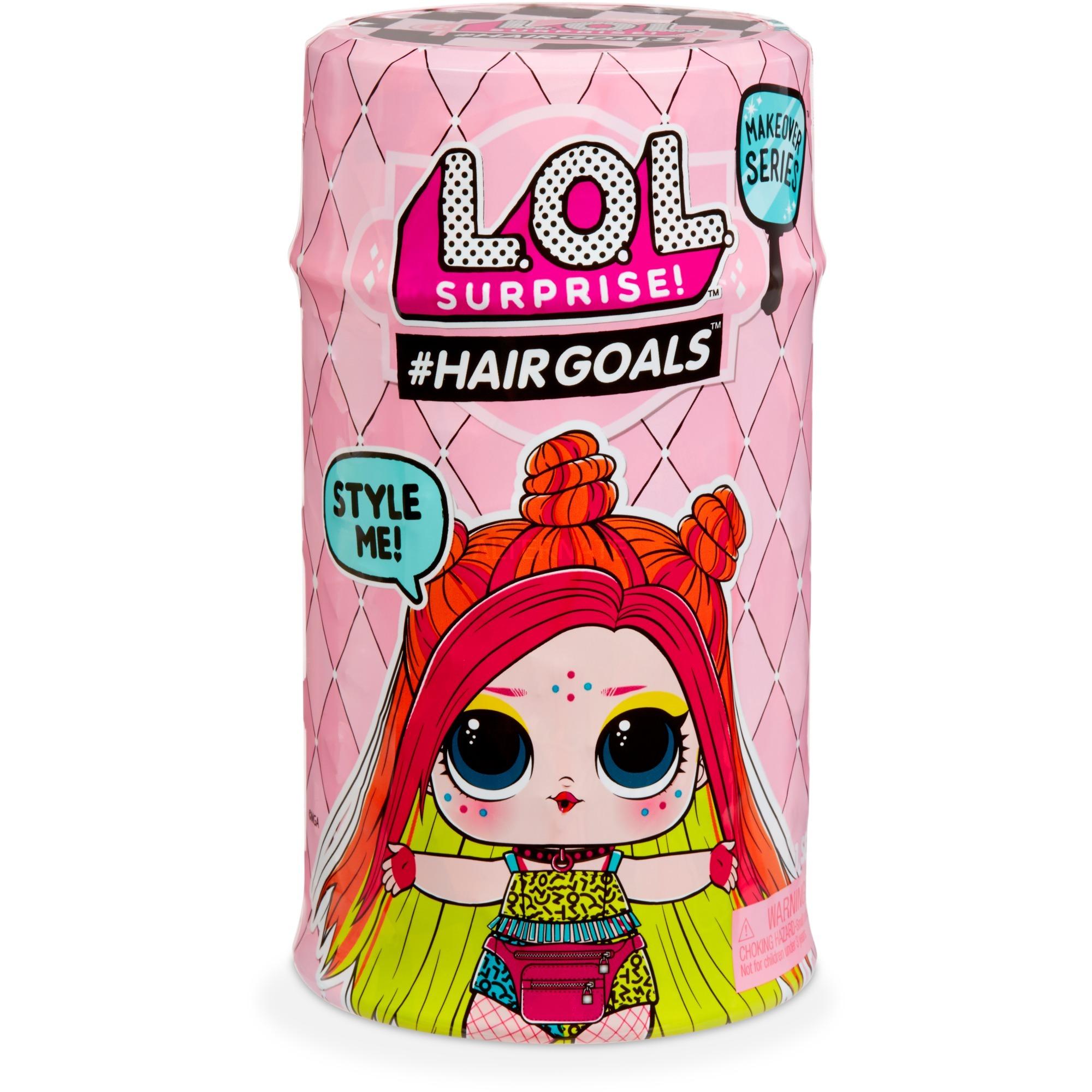 #Hairgoals- Makeover Series 2A, Muñecos