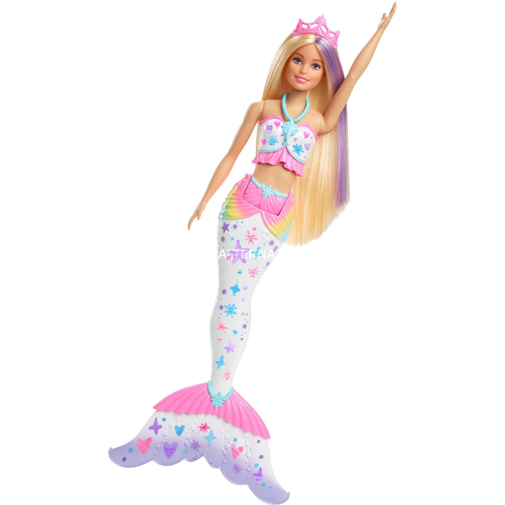 Barbie Mermaid, Muñecos