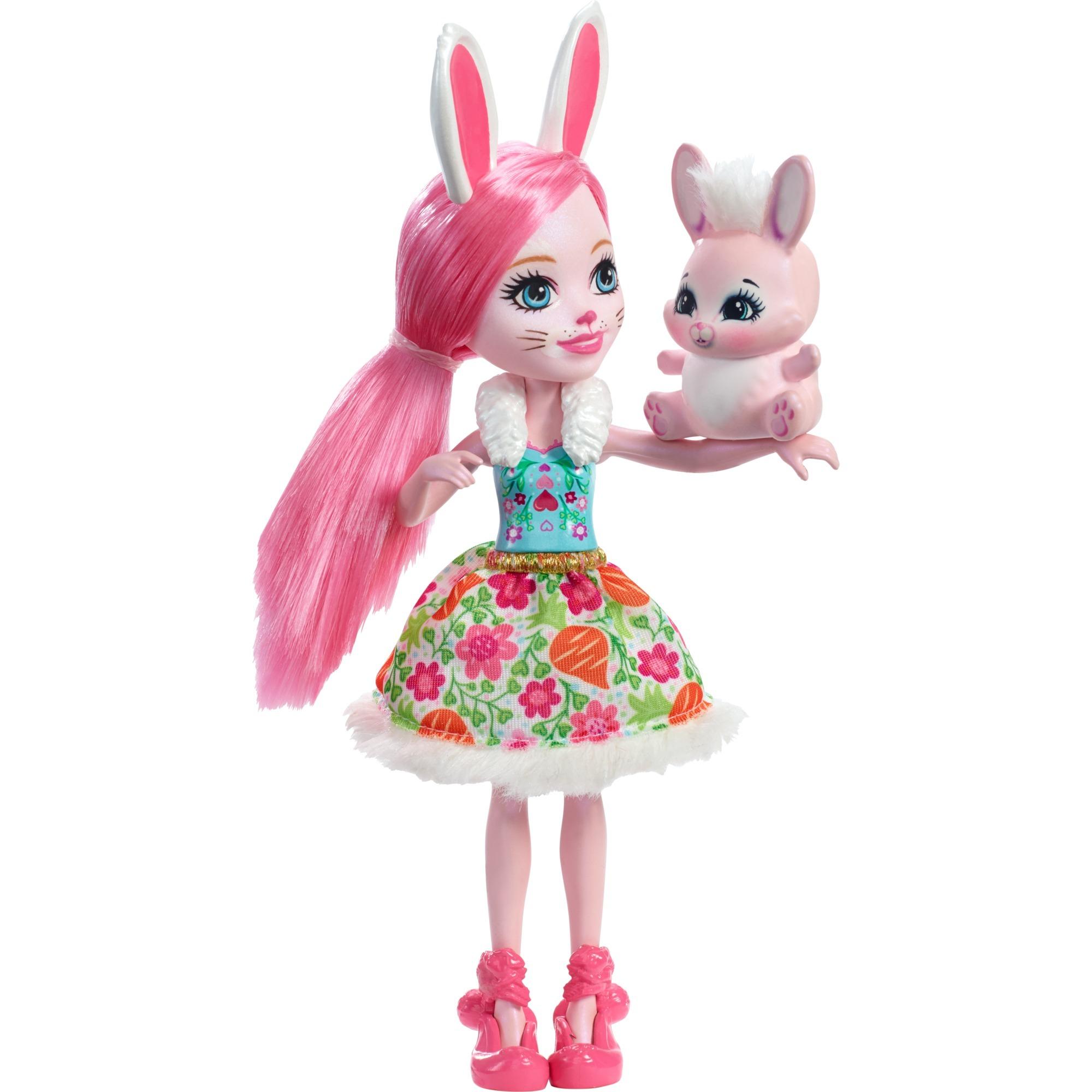 Enchantimals - Bree Bunny - Muñeca y Mascota