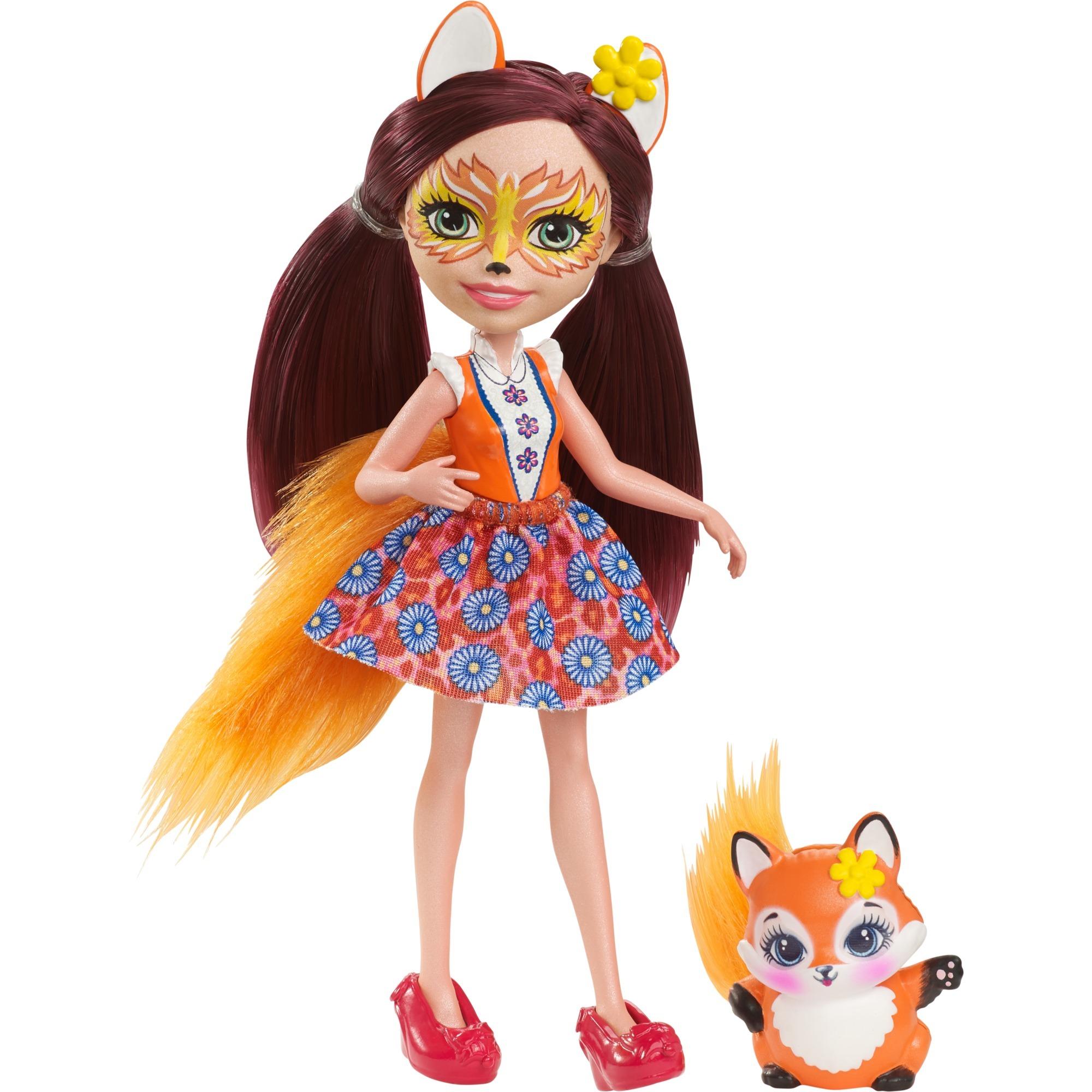 Enchantimals - Felicity Fox - Muñeca y Mascota