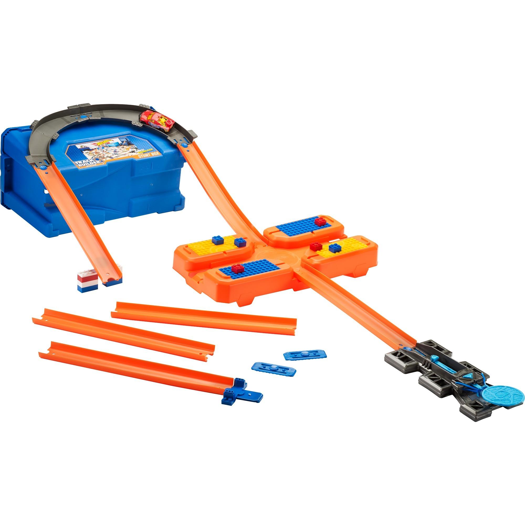 Hot Wheels - Caja Stunt - Track Builder