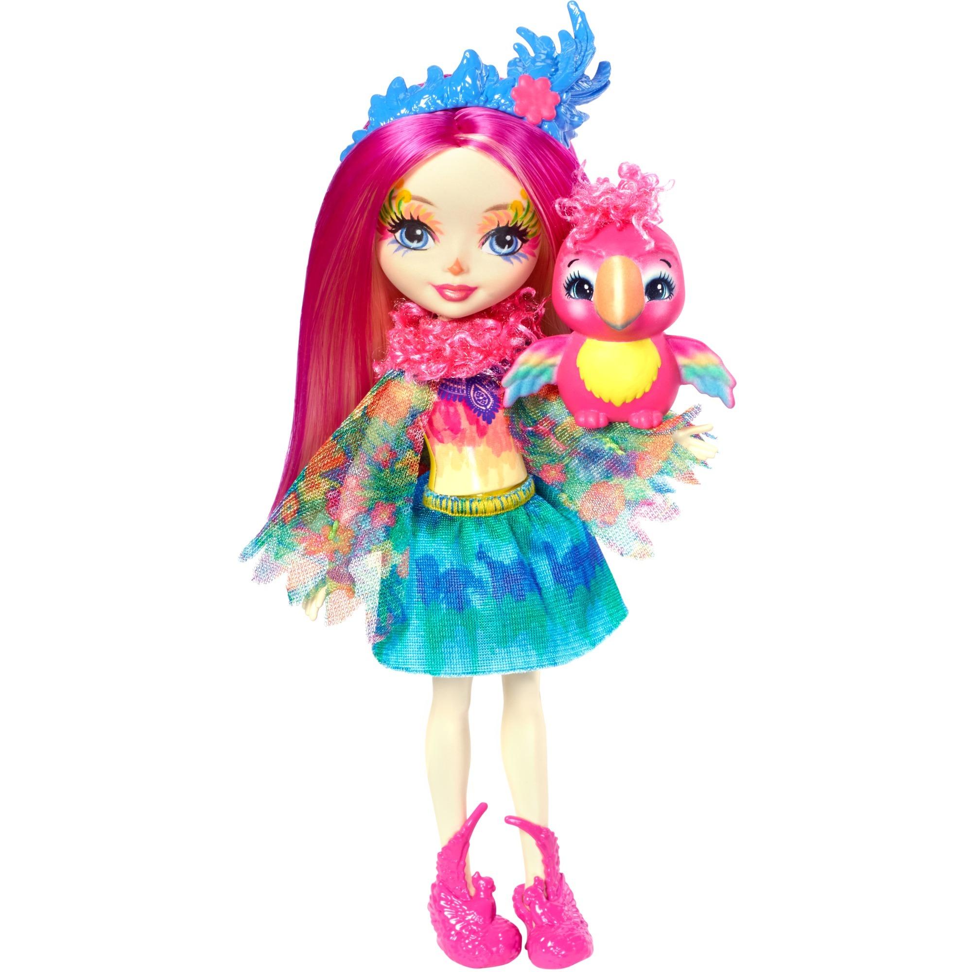 Enchantimals - Muñeca Peeki Parrot